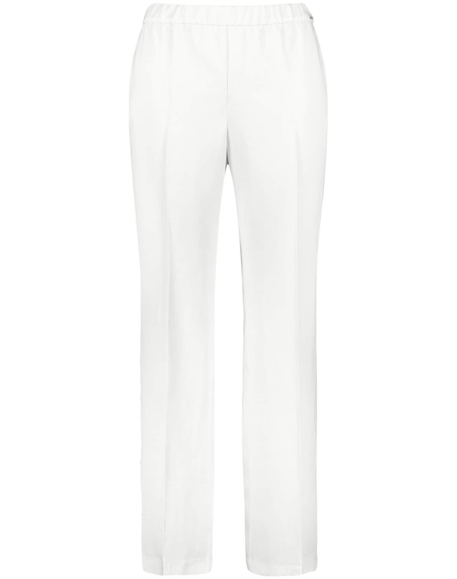 SAMOON Kelnės balta