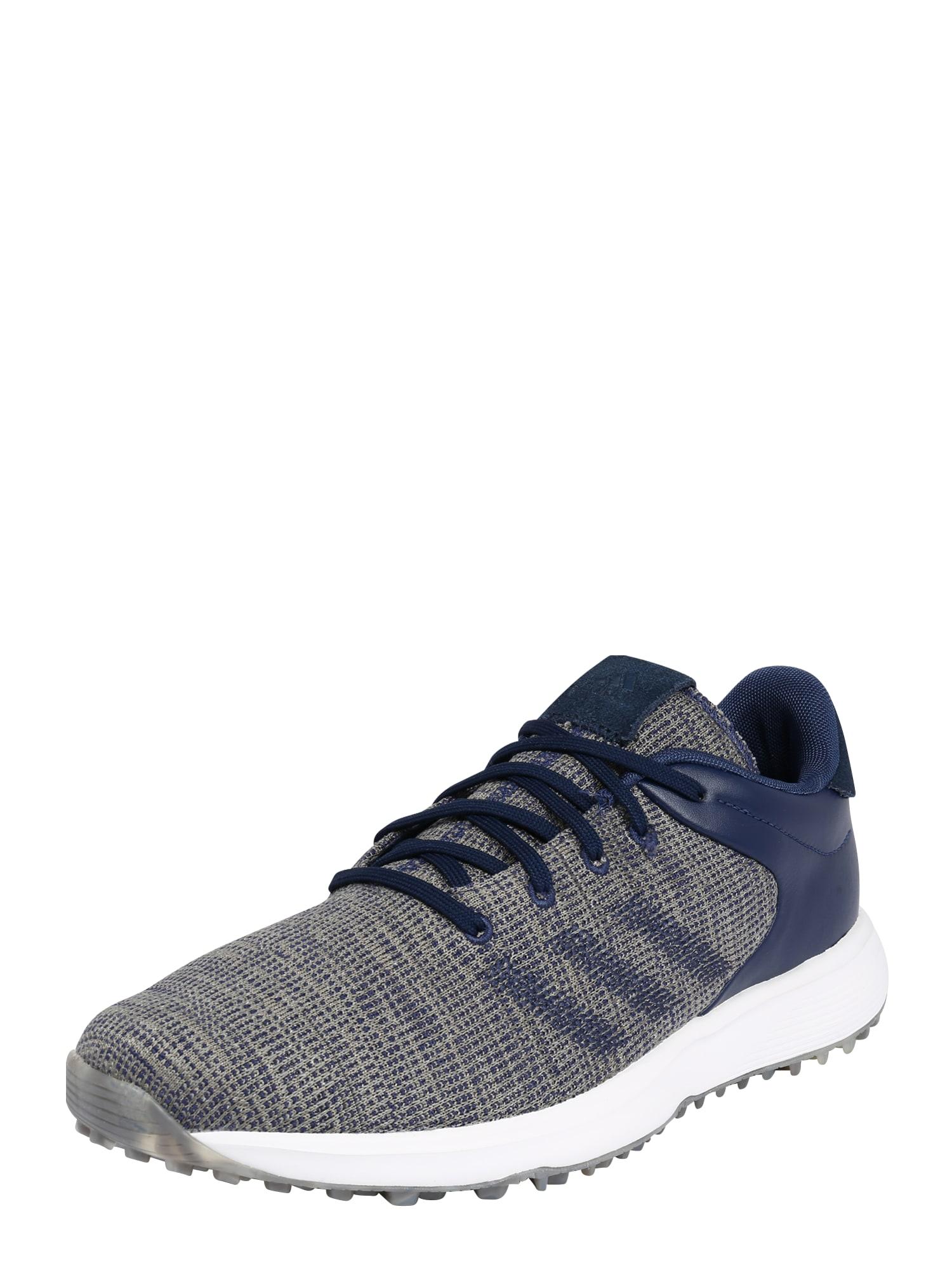 adidas Golf Sportiniai batai tamsiai mėlyna / margai pilka