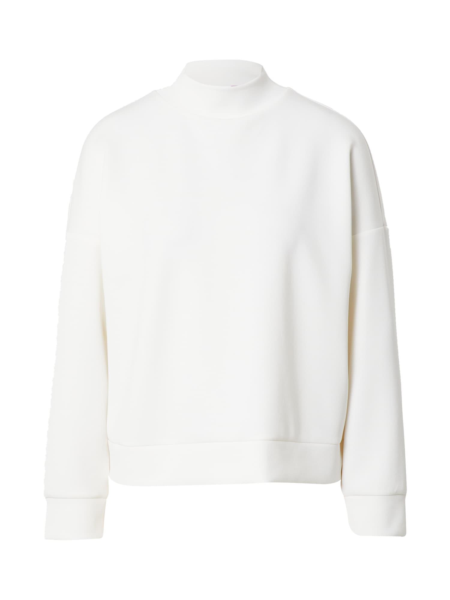 COMMA Megztinis be užsegimo balta