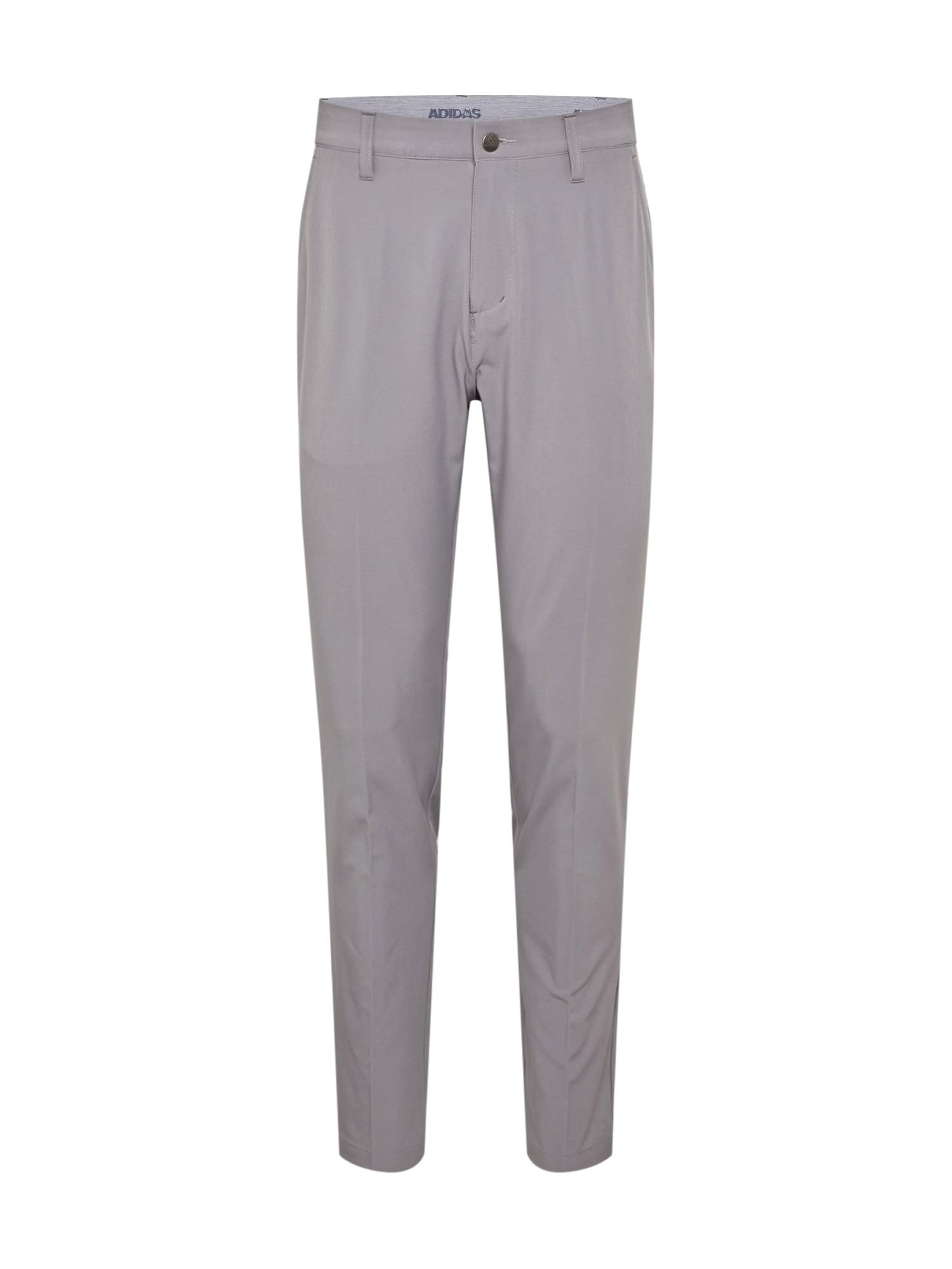 adidas Golf Sportovní kalhoty  světle šedá