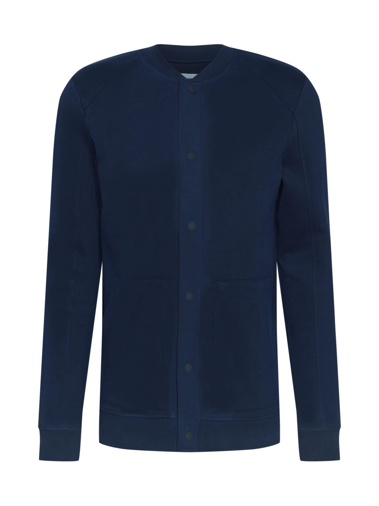 TOM TAILOR DENIM Džemperis tamsiai mėlyna