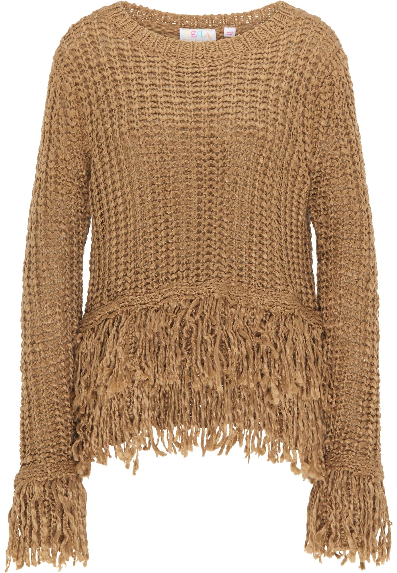 IZIA Megztinis šviesiai ruda
