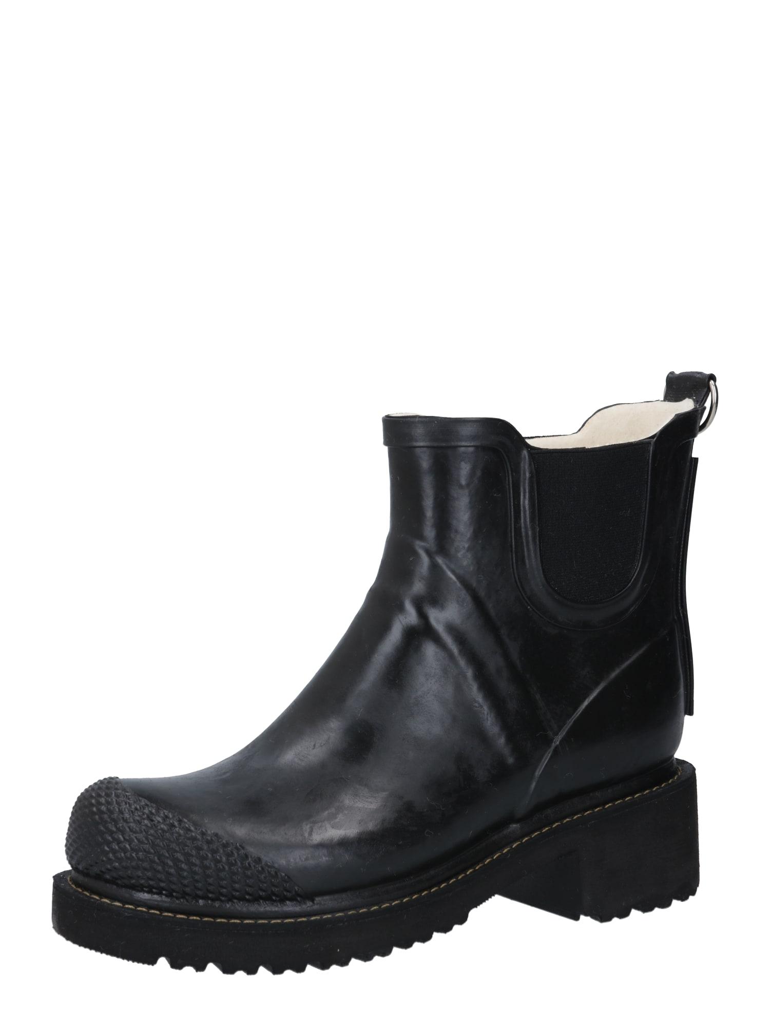 ILSE JACOBSEN Guminiai batai juoda