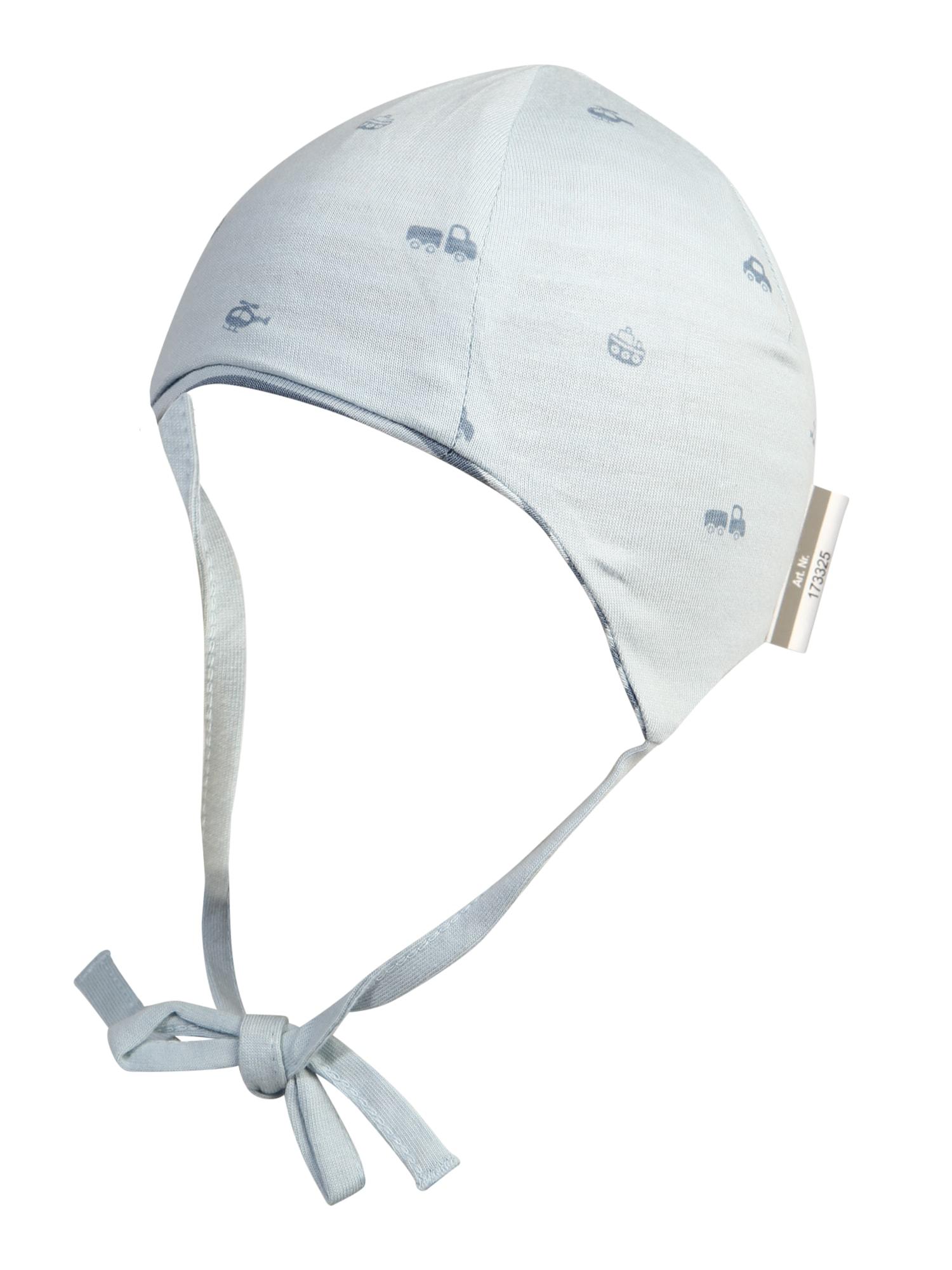 SIGIKID Megzta kepurė mėlyna