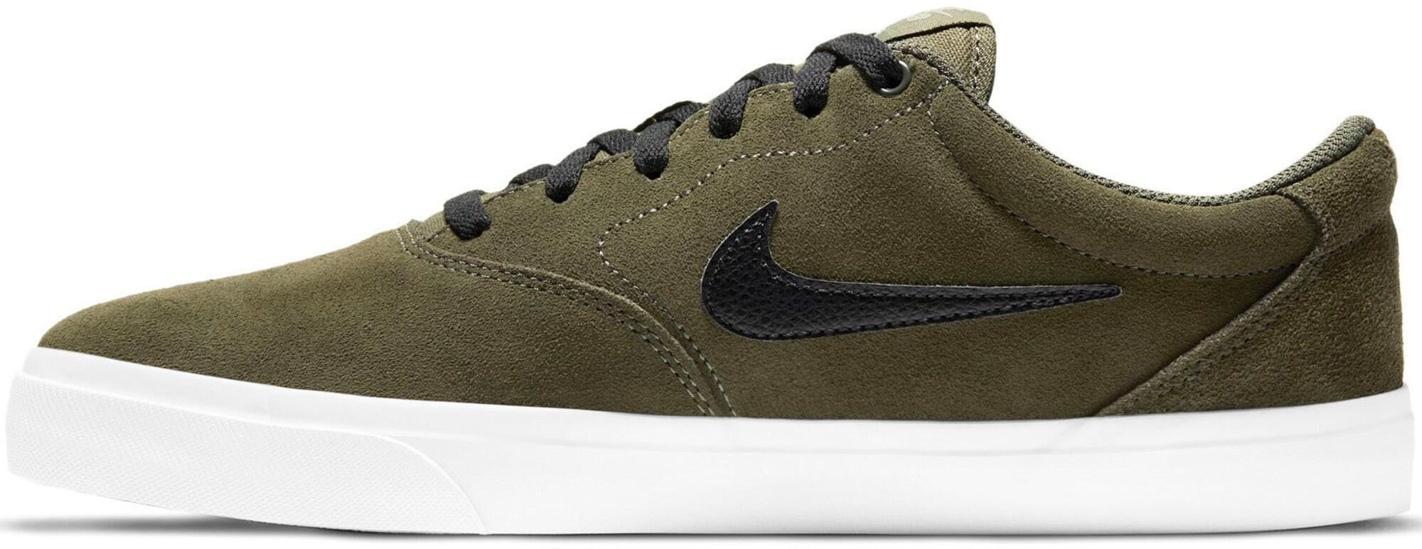 Nike SB Sportbačiai be auliuko rusvai žalia / juoda