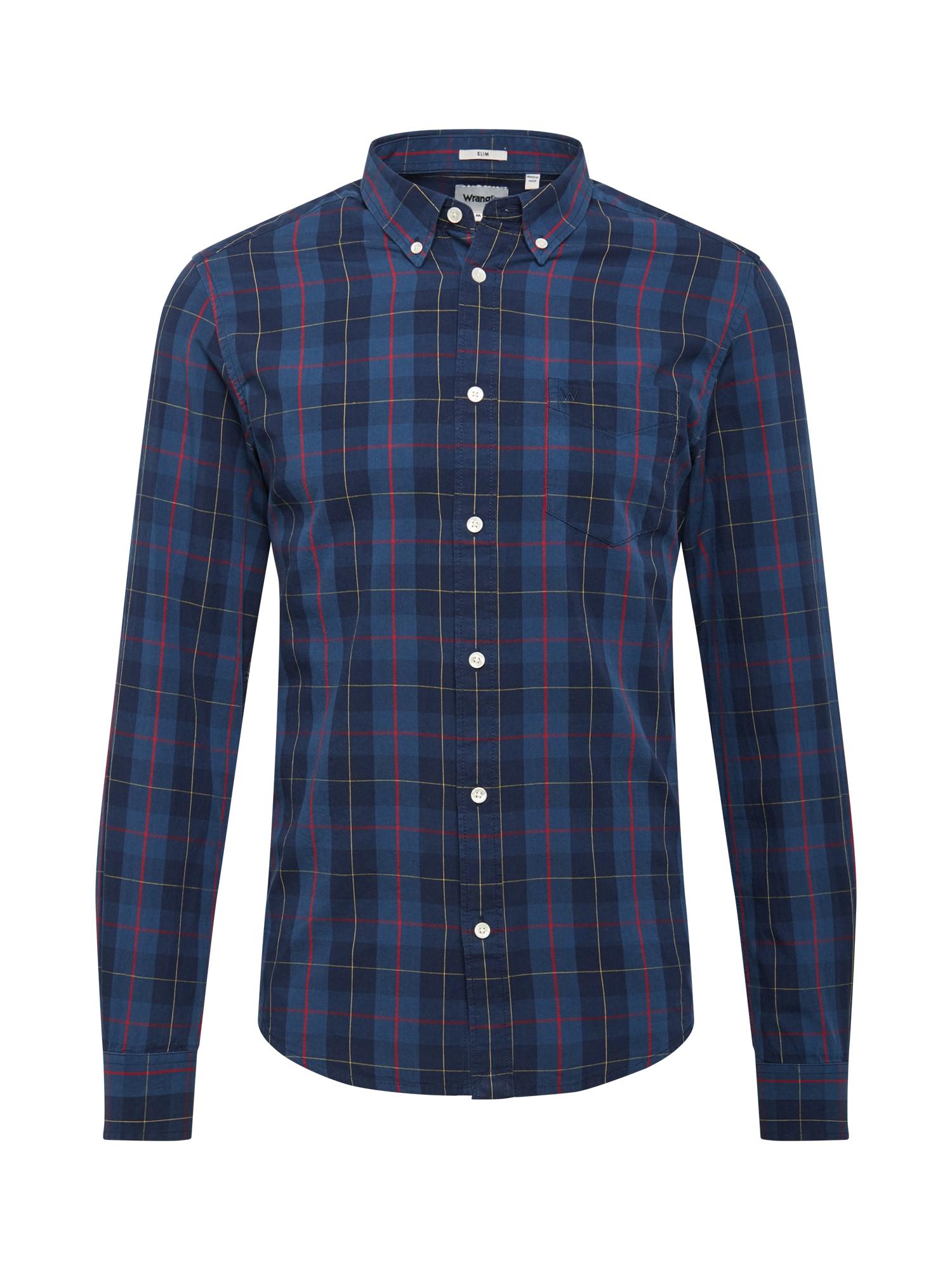 WRANGLER Marškiniai tamsiai mėlyna