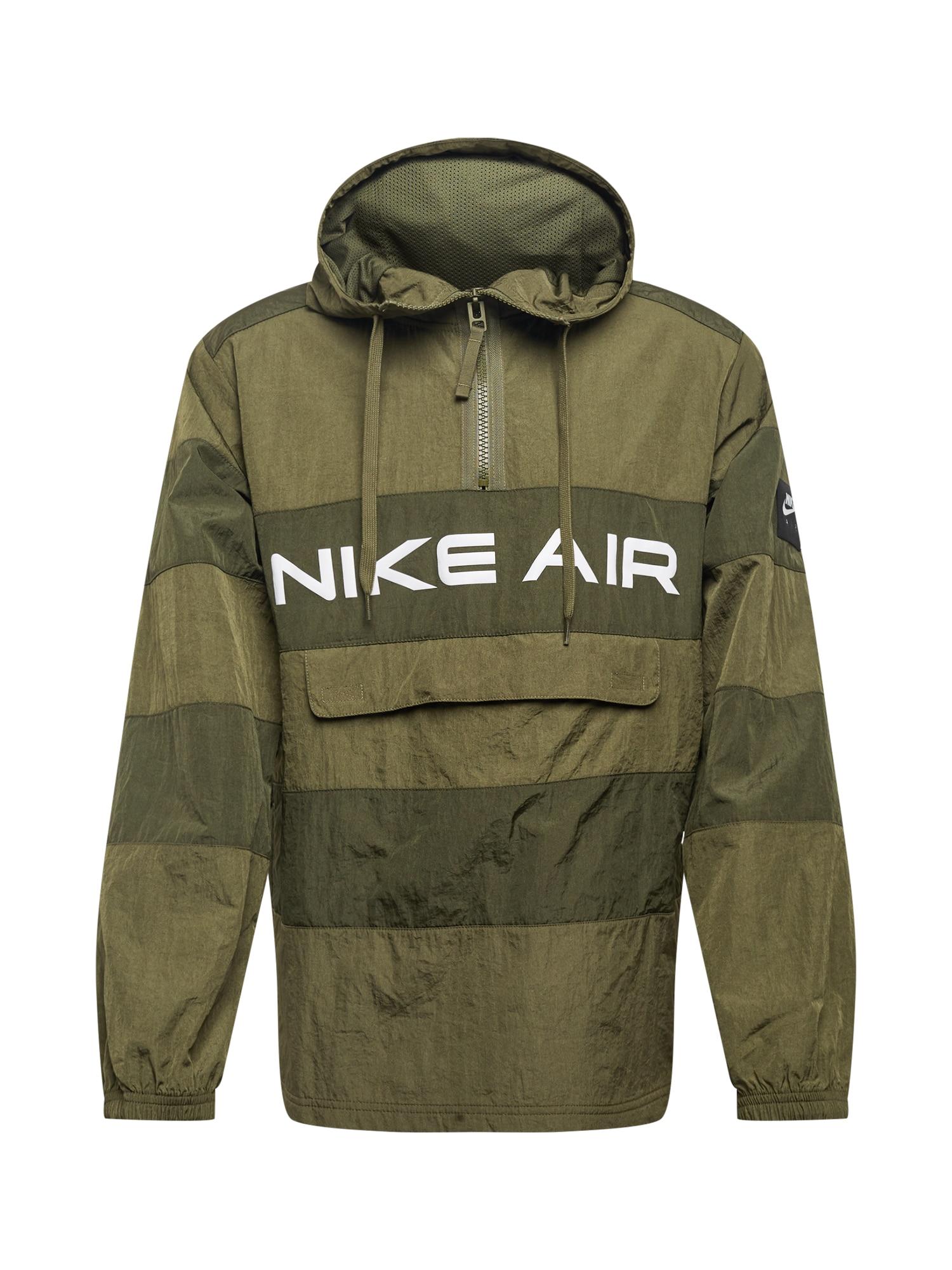 Nike Sportswear Přechodná bunda  olivová