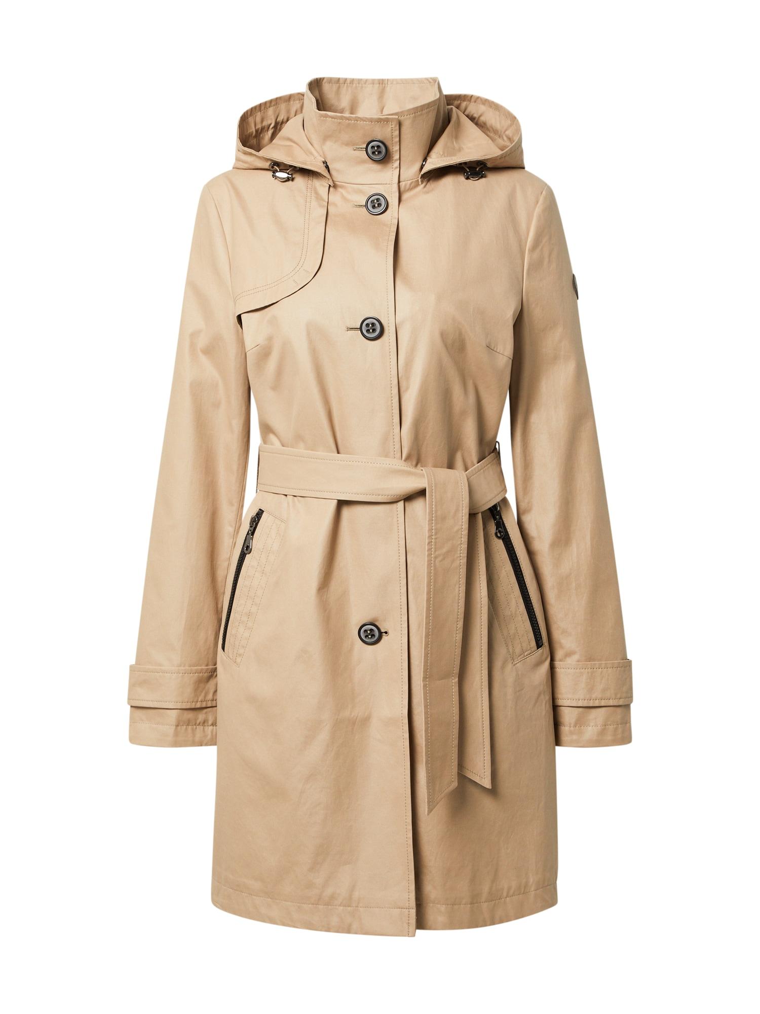 GIL BRET Demisezoninis paltas smėlio spalva