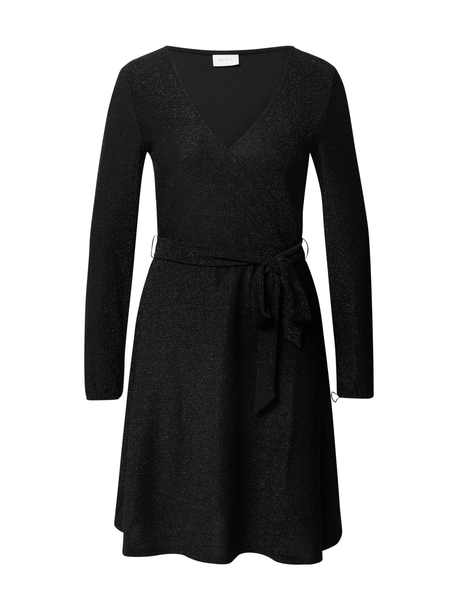 VILA Šaty 'Glowa'  černá