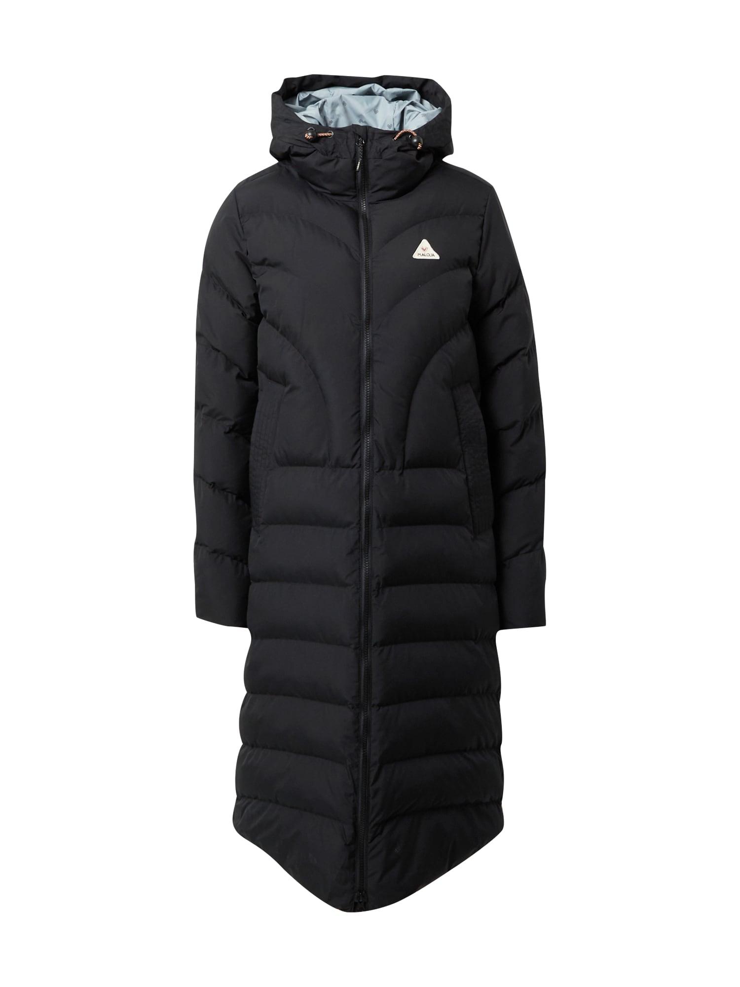 Maloja Funkční kabát  černá
