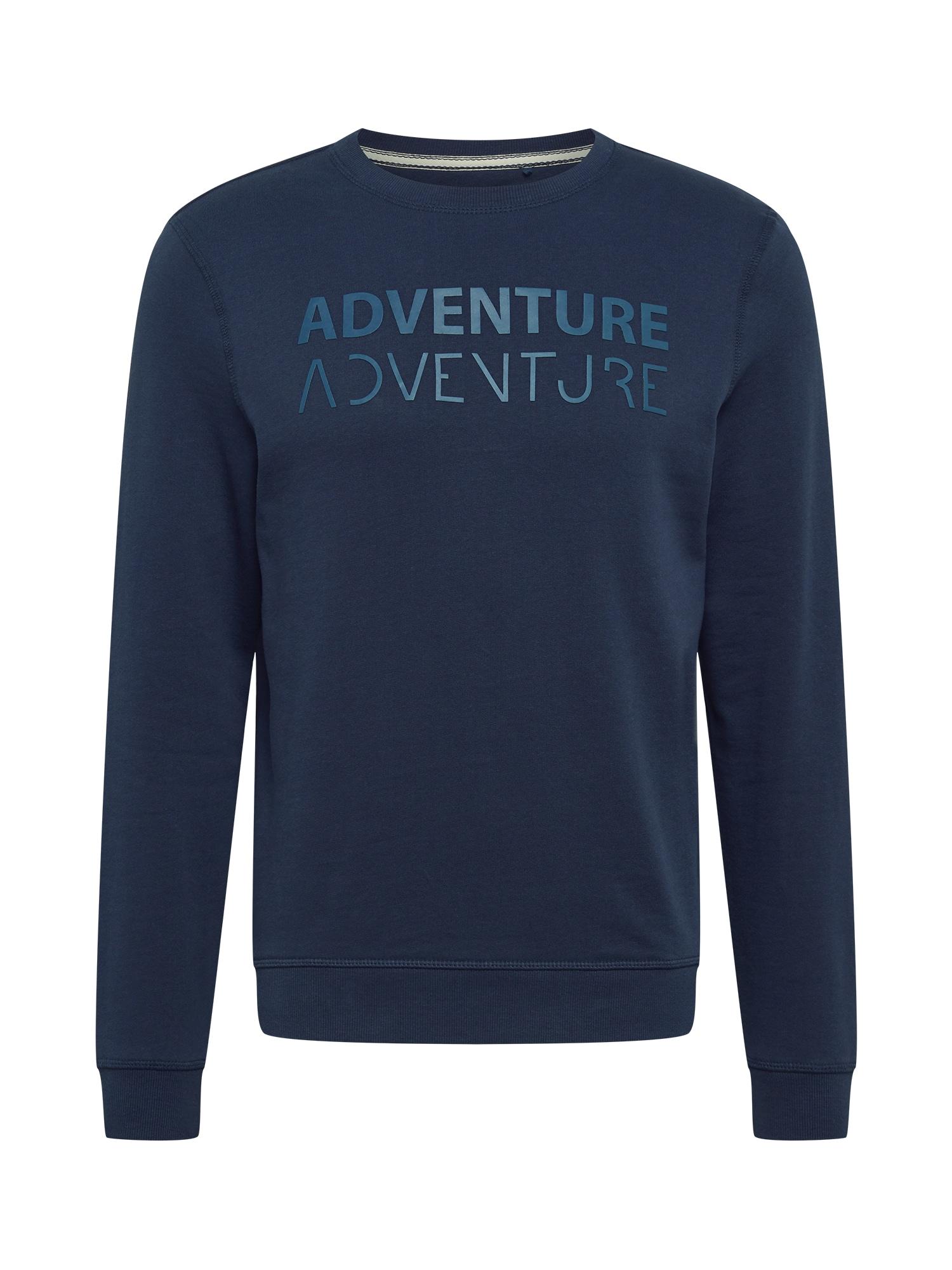 """BLEND Megztinis be užsegimo tamsiai mėlyna jūros spalva / sodri mėlyna (""""karališka"""")"""