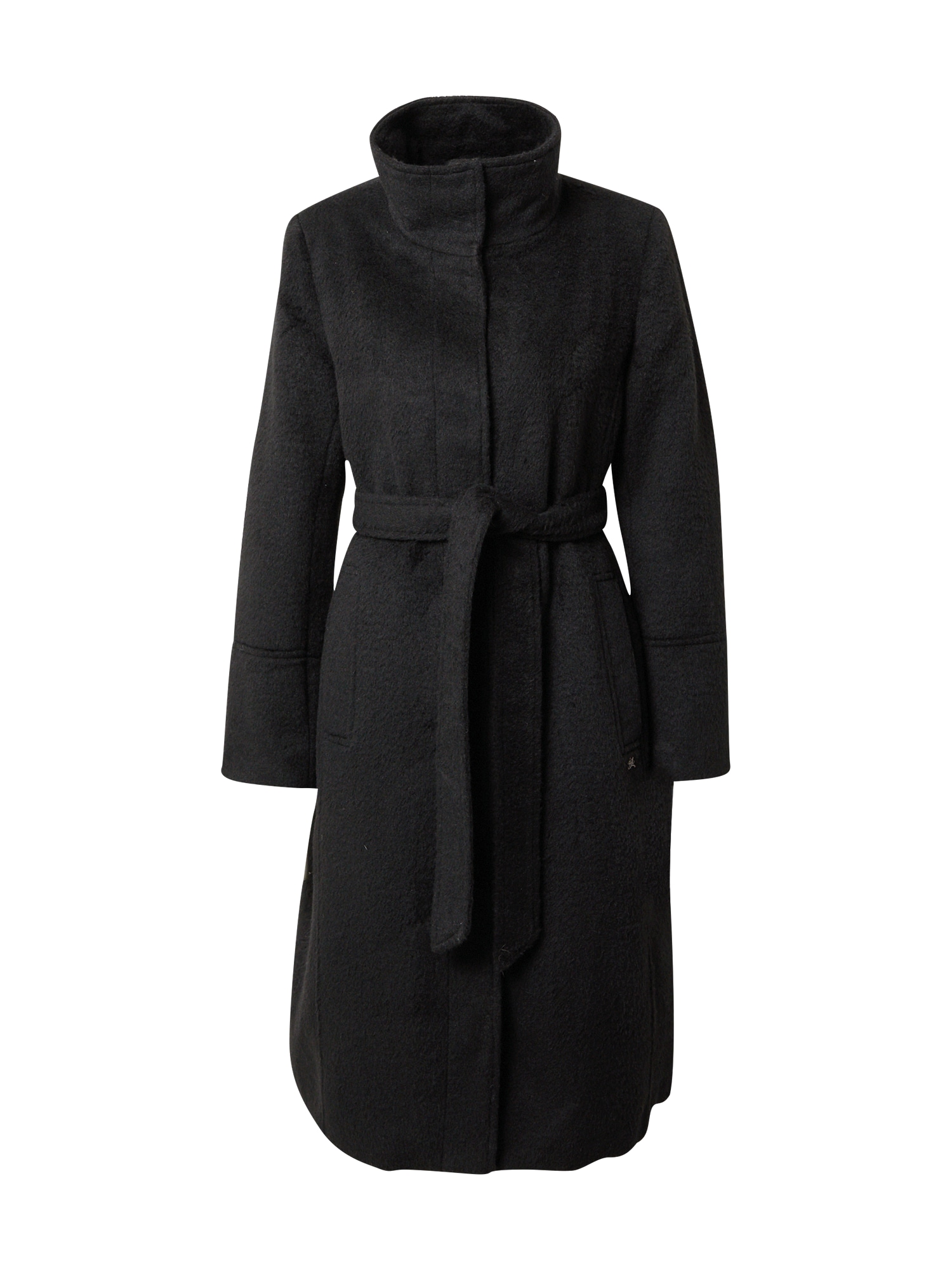 Funky Buddha Přechodný kabát  černá