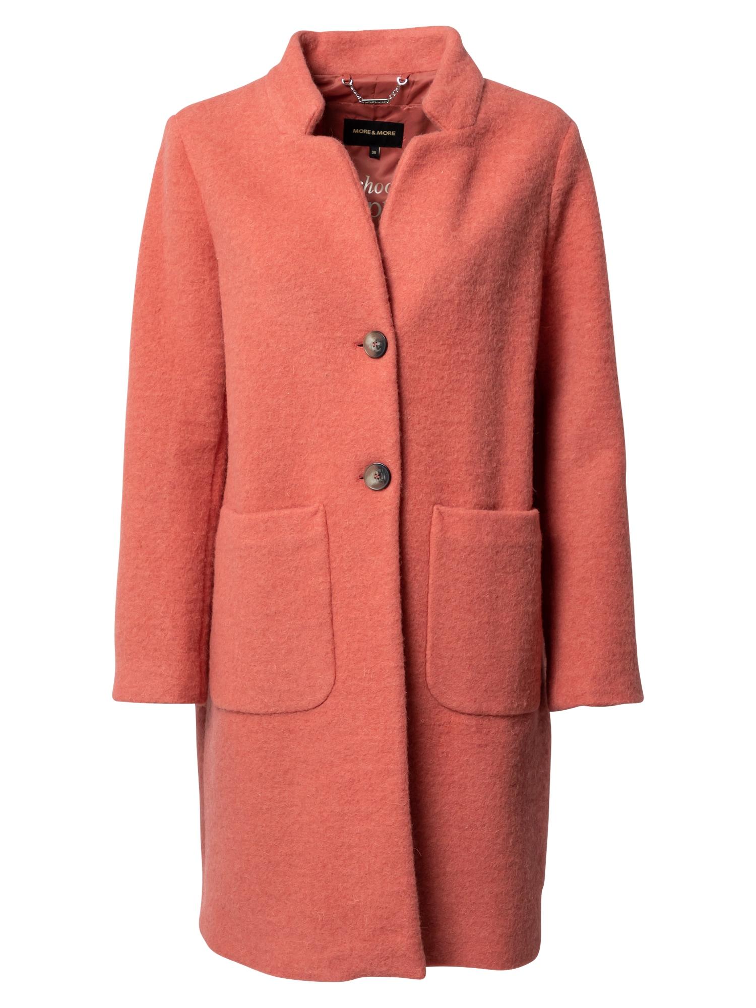 MORE & MORE Přechodný kabát  pink