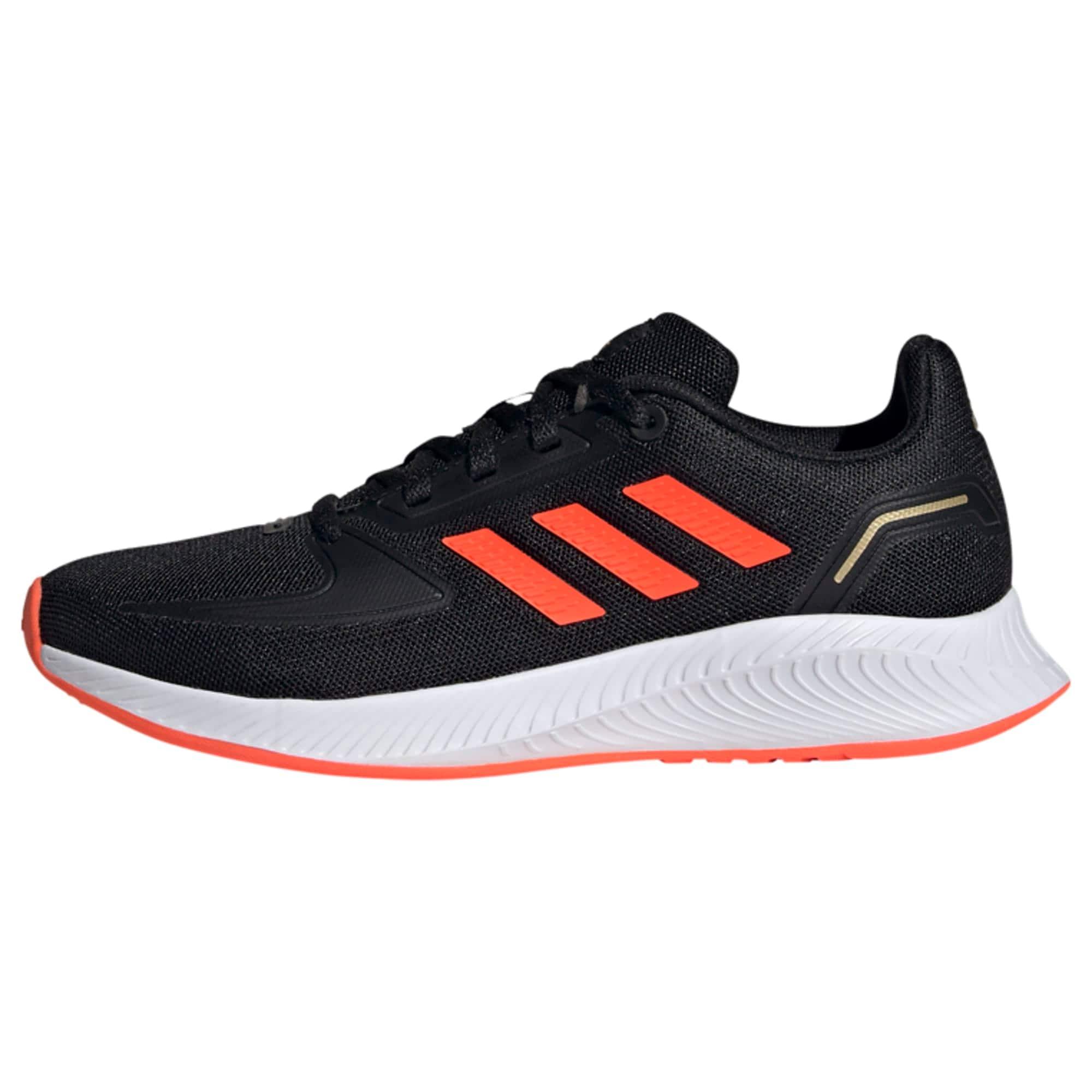 ADIDAS PERFORMANCE Sportiniai batai 'Runfalcon 2.0' juoda / lašišų spalva