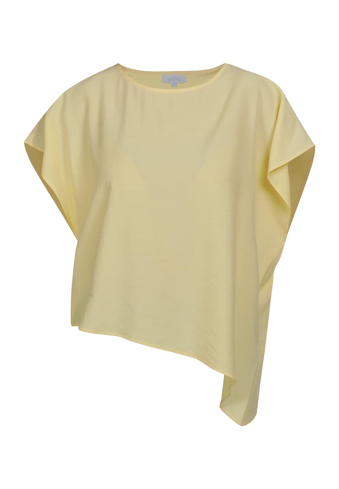 usha BLUE LABEL Marškinėliai šviesiai geltona