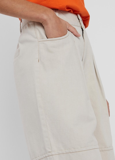 Pleat-front trousers 'Fiona'