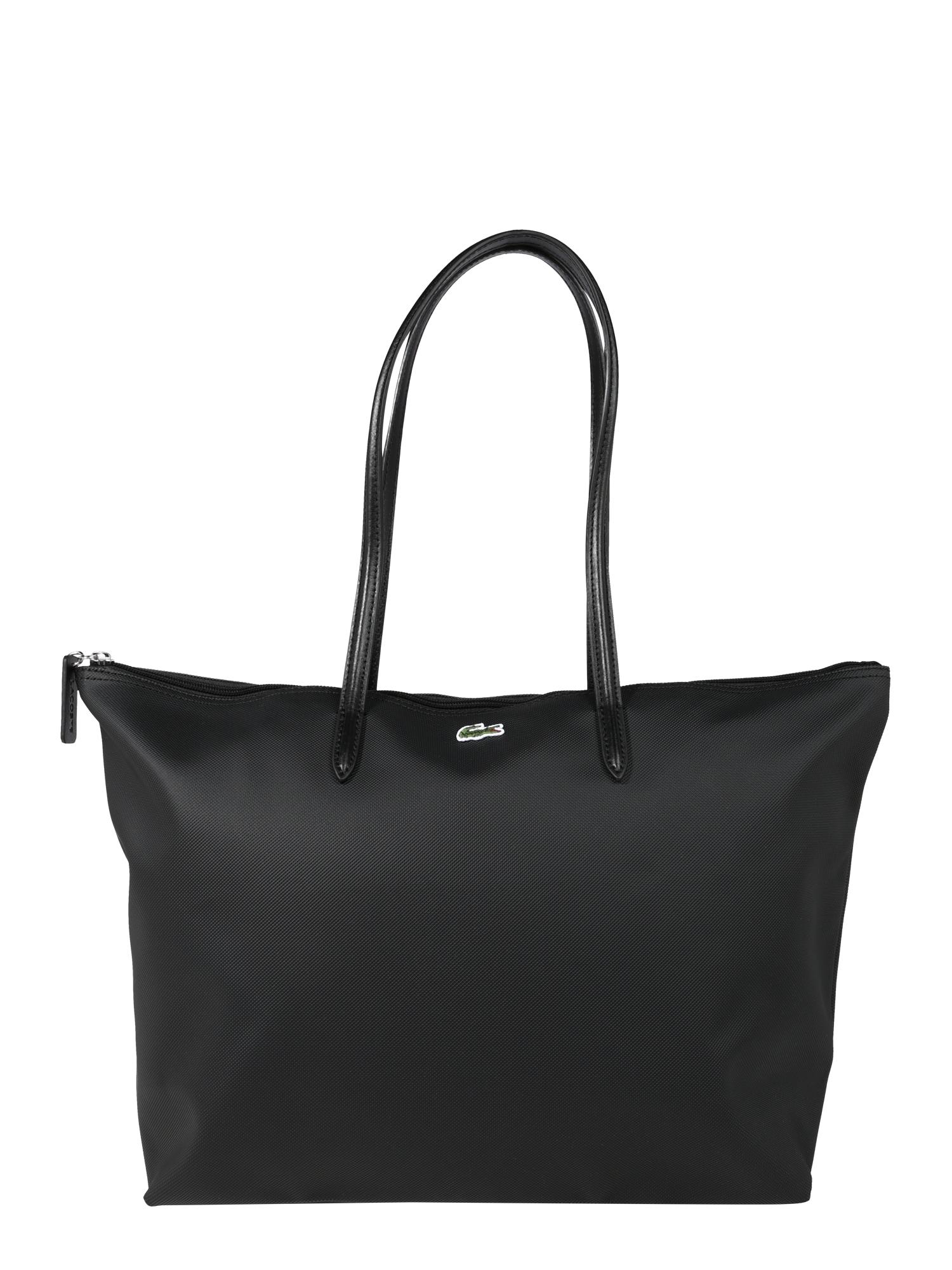 LACOSTE Pirkinių krepšys juoda