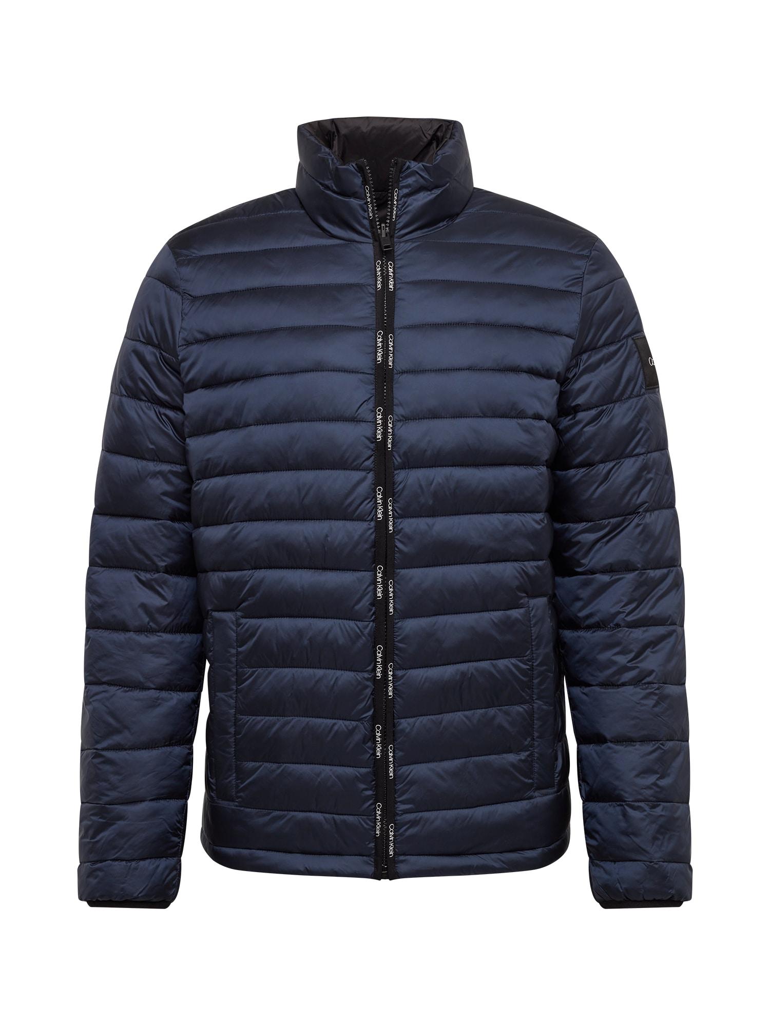 Calvin Klein Přechodná bunda  námořnická modř