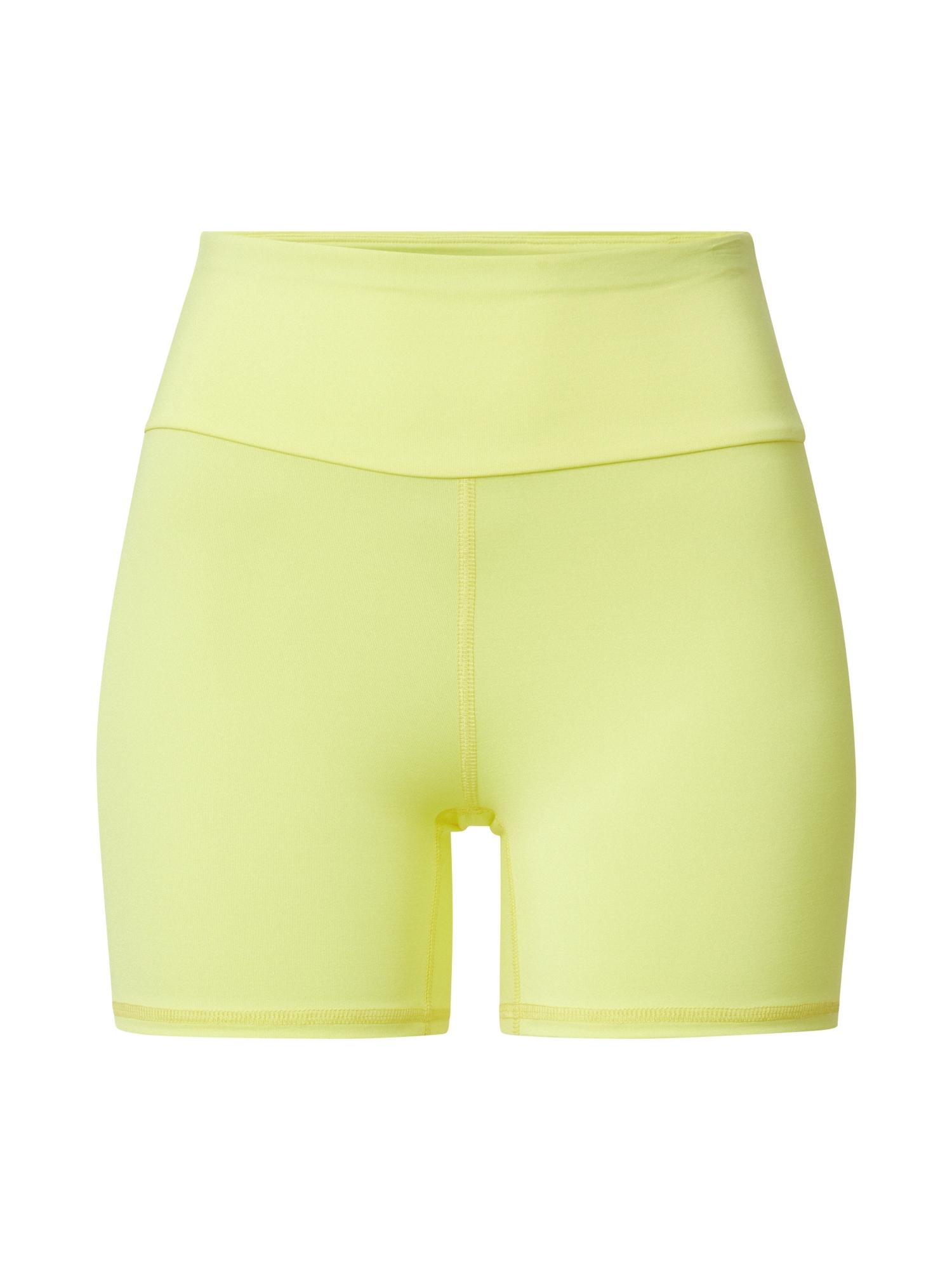 Hey Honey Sportinės kelnės pilka / šviesiai geltona