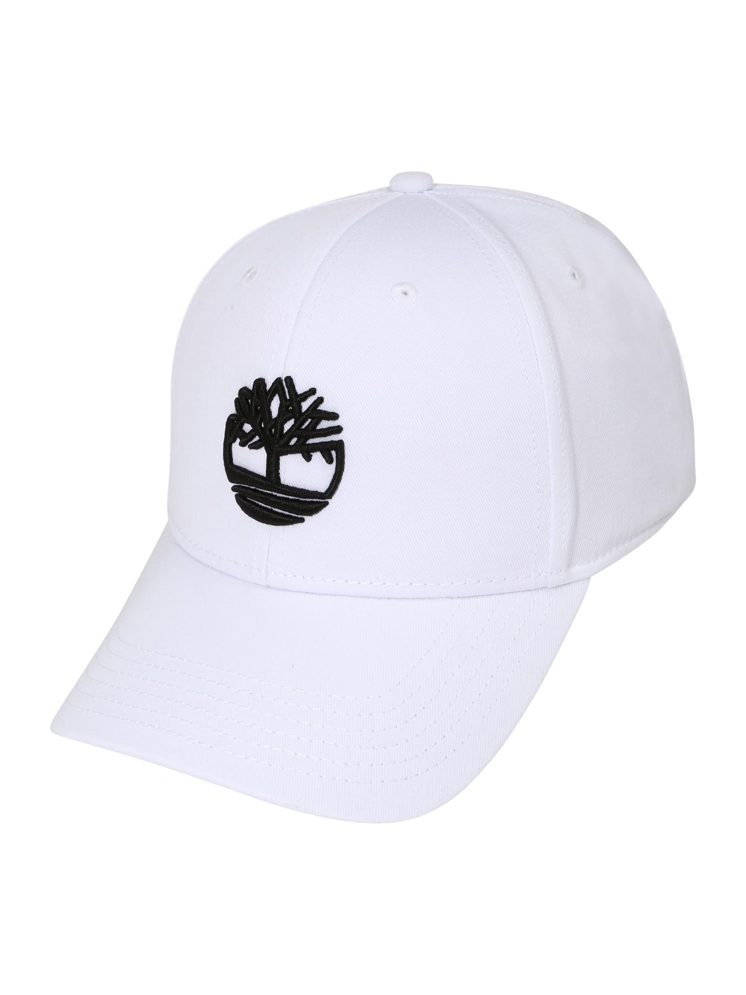 TIMBERLAND Kepurė balta / juoda