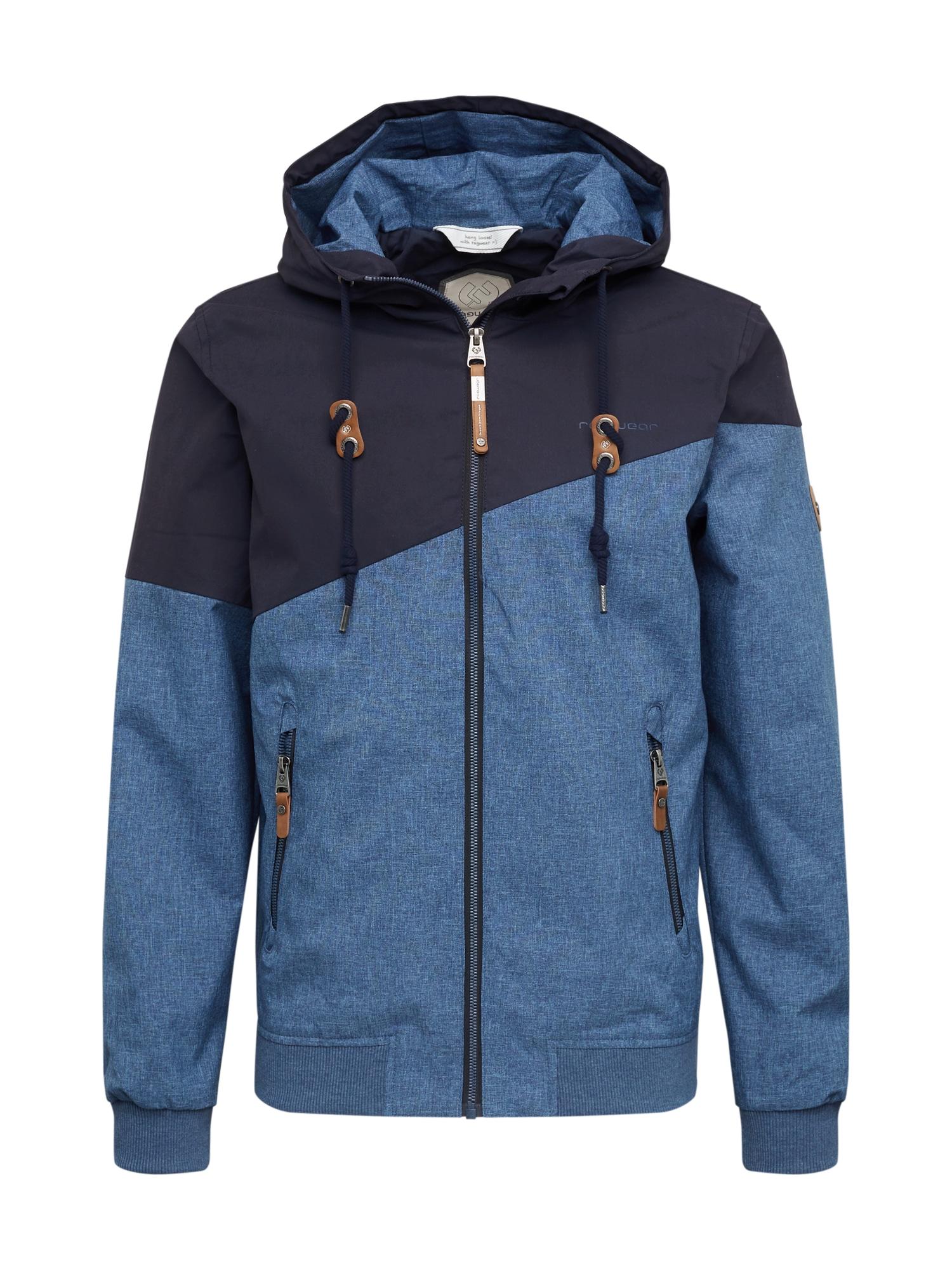 Ragwear Přechodná bunda 'Wings'  námořnická modř / královská modrá