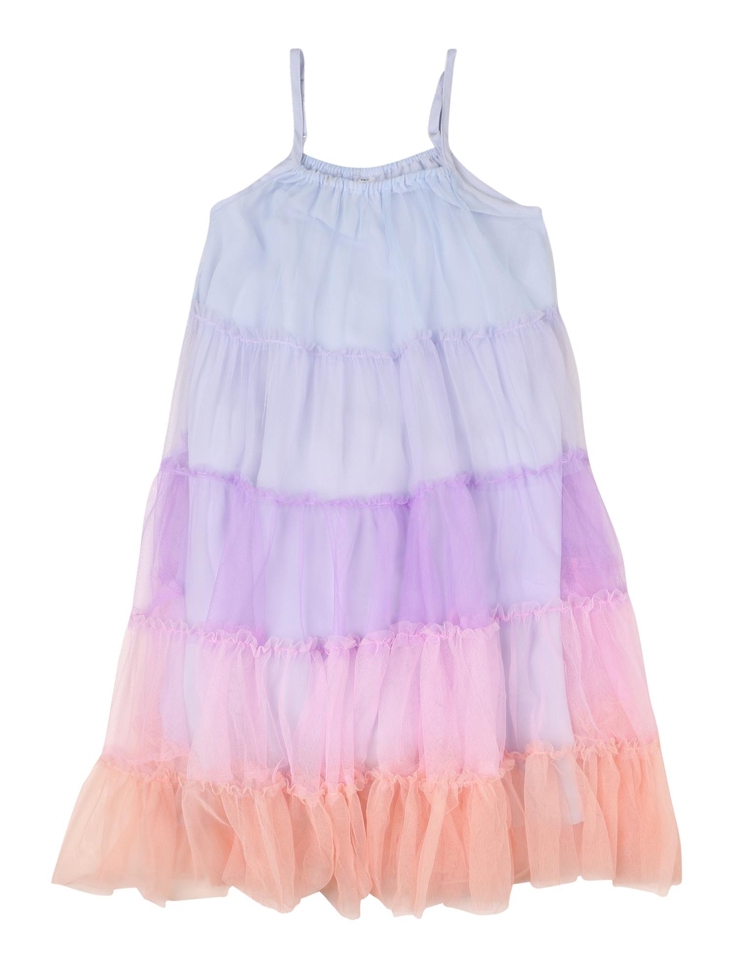Cotton On Suknelė 'Iggy' šviesiai mėlyna / purpurinė / oranžinė / šviesiai rožinė