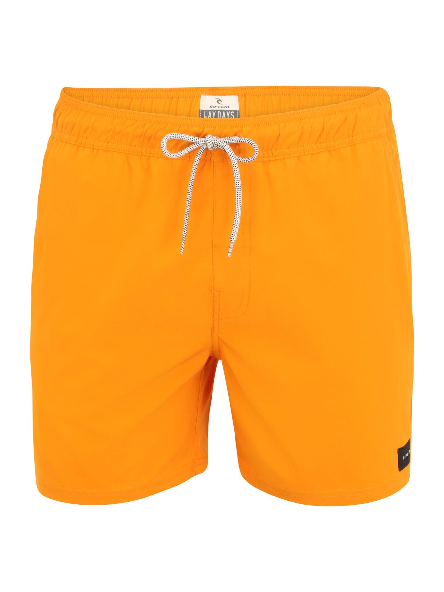 RIP CURL Maudymosi trumpikės mandarinų spalva