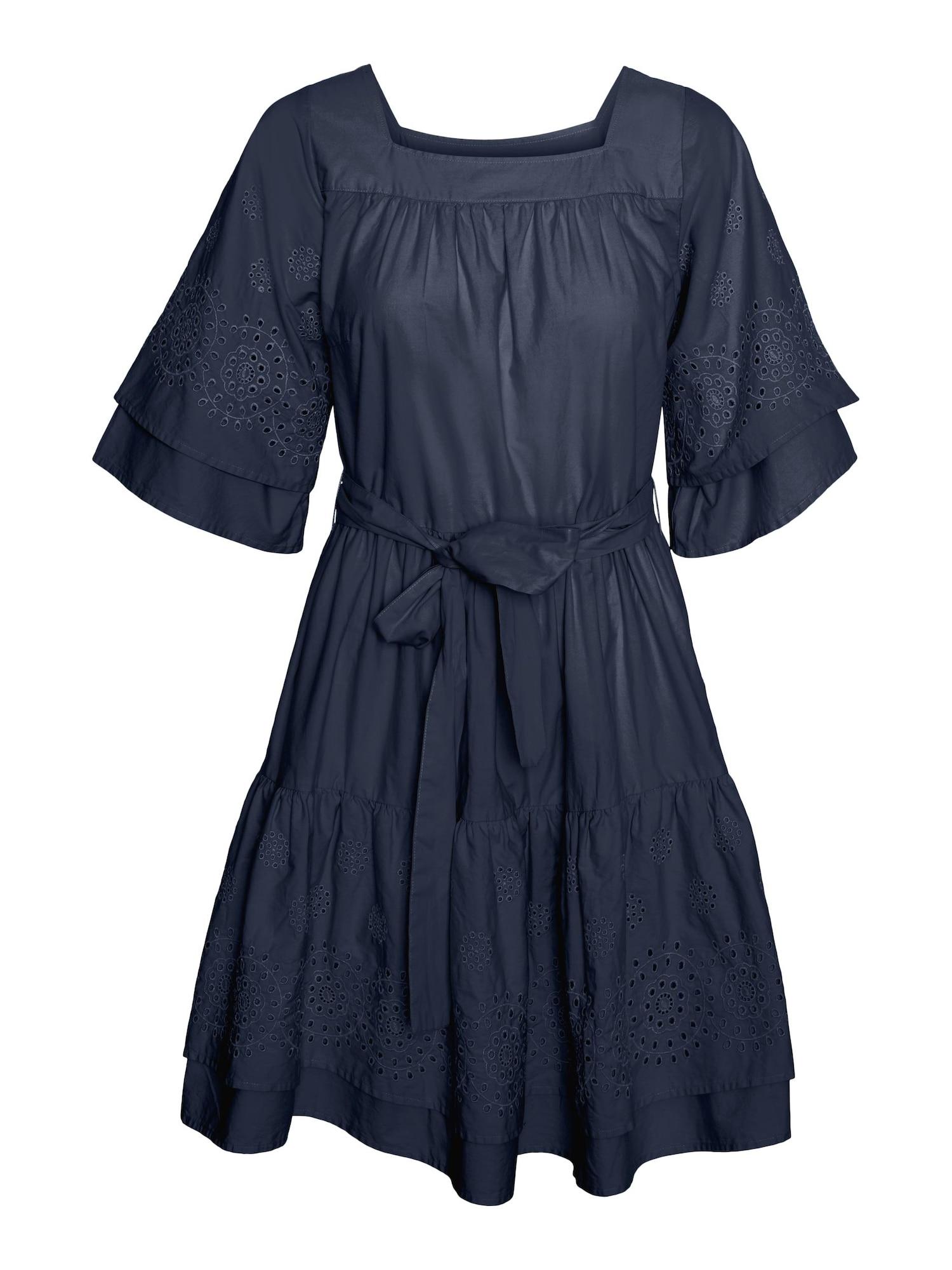 VERO MODA Šaty 'Alberte'  námořnická modř