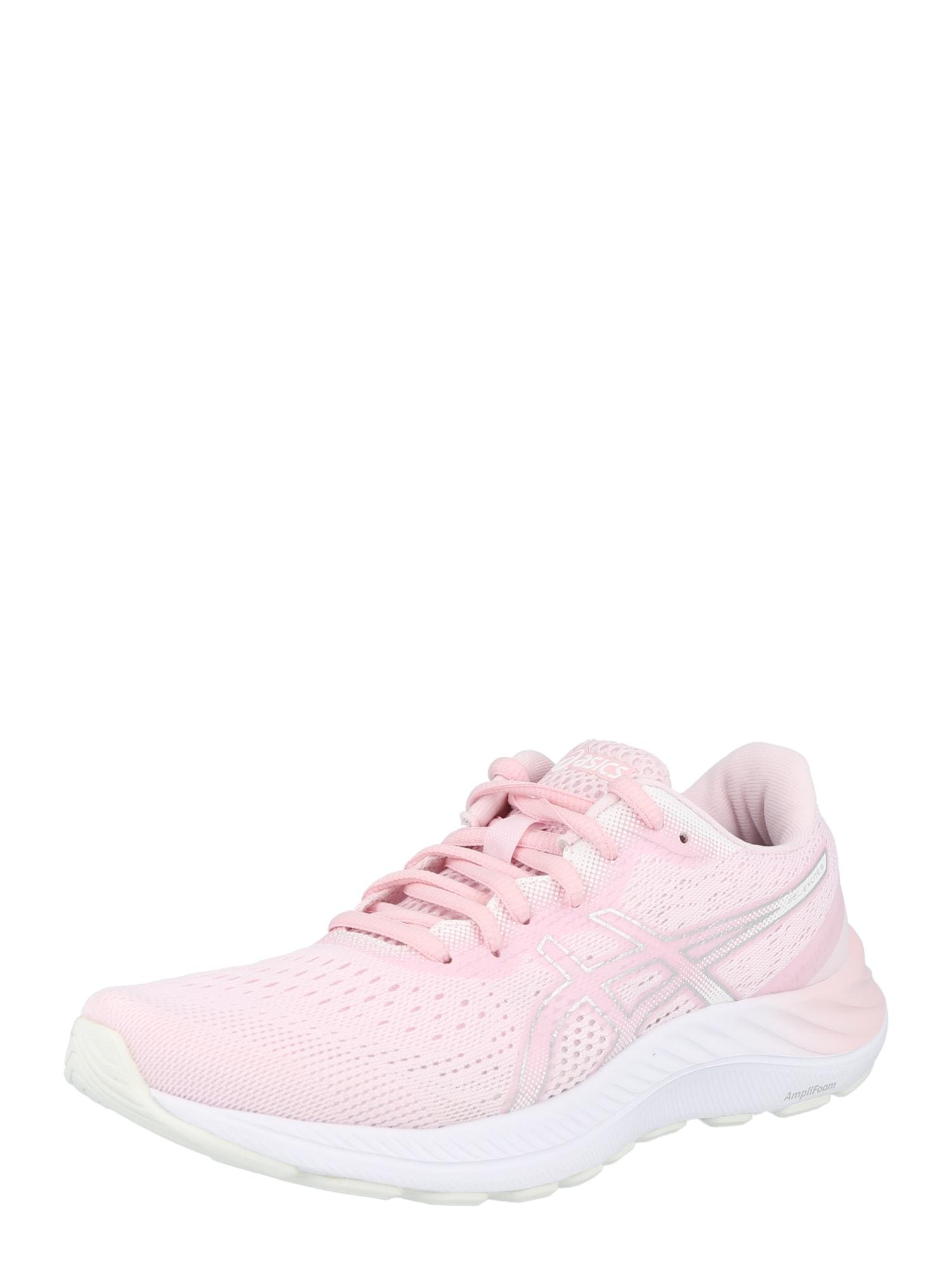 ASICS Bėgimo batai šviesiai rožinė / balta / sidabrinė