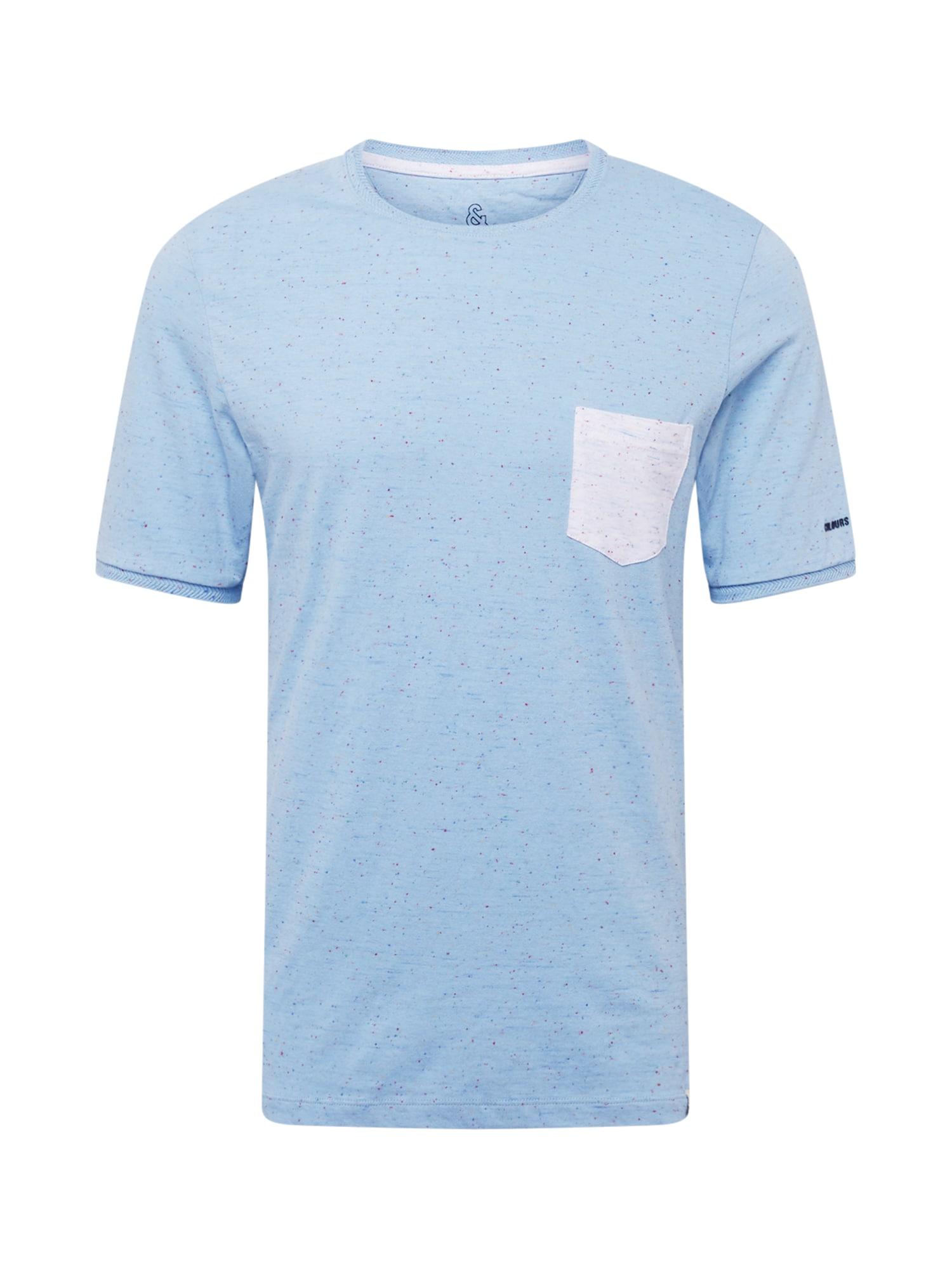 COLOURS & SONS Marškinėliai šviesiai mėlyna / pastelinė mėlyna