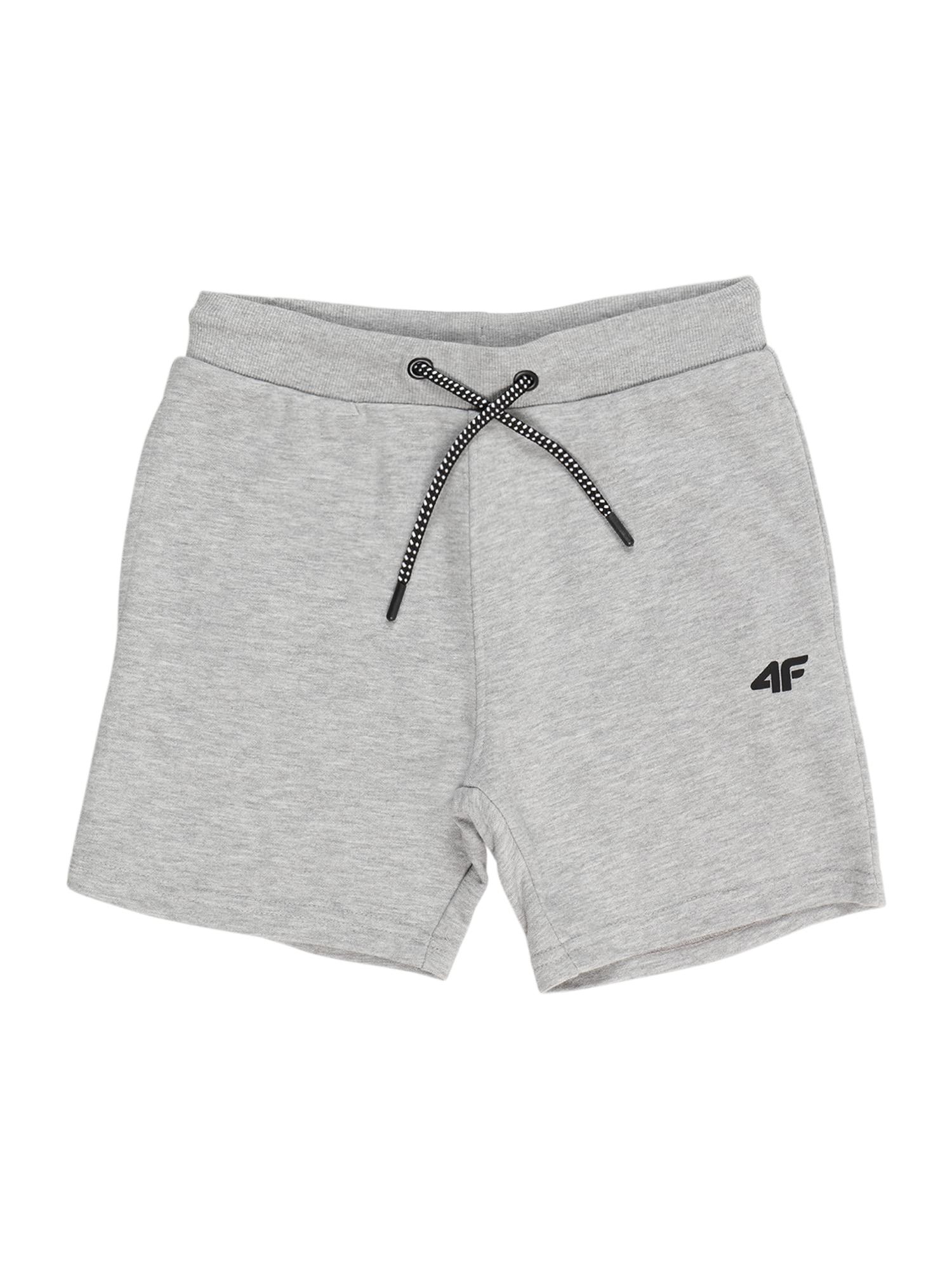 4F Sportinės kelnės šviesiai pilka / margai pilka / juoda
