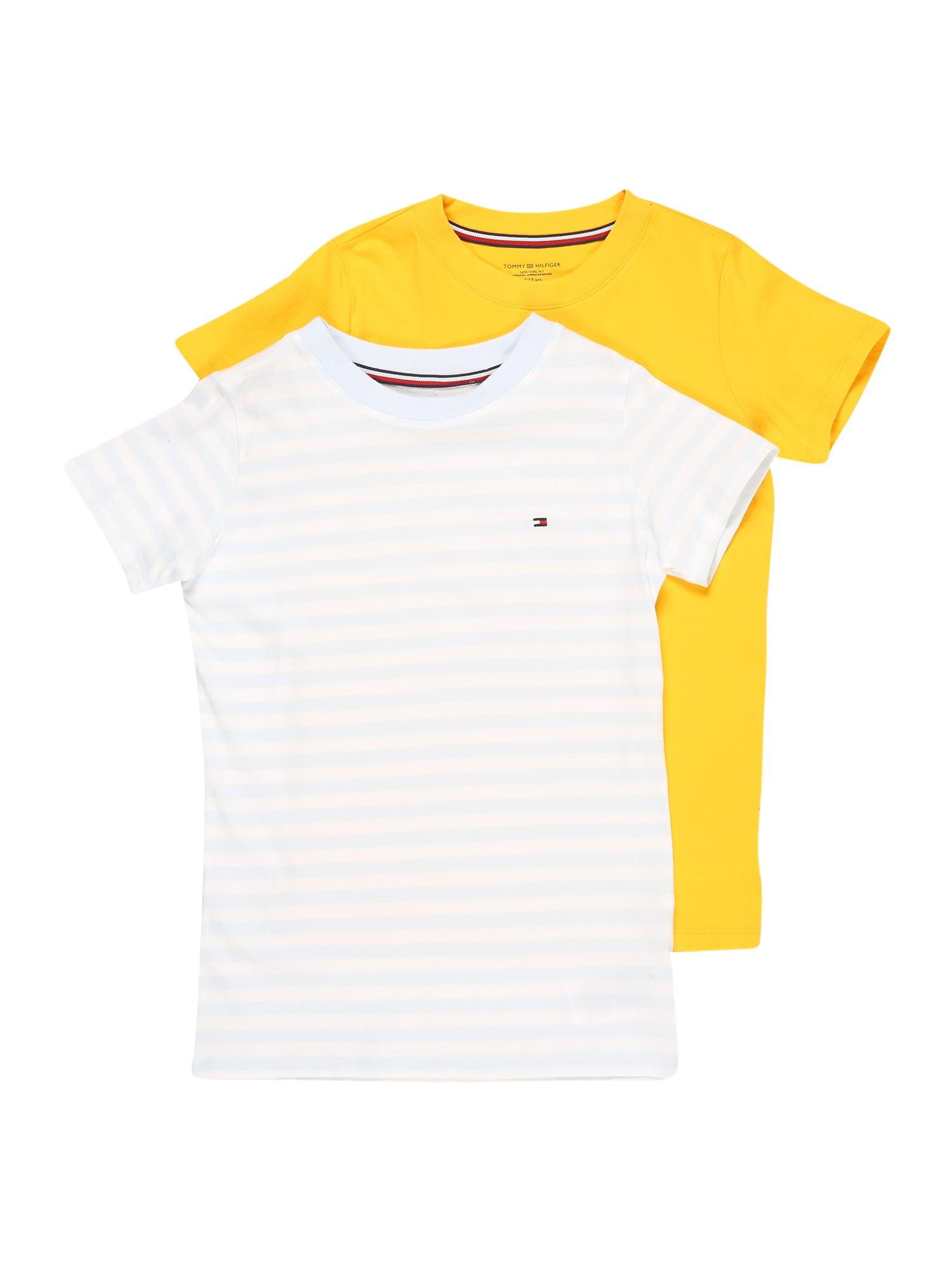 Tommy Hilfiger Underwear Apatiniai marškinėliai geltona / šviesiai mėlyna / balta / tamsiai mėlyna / raudona