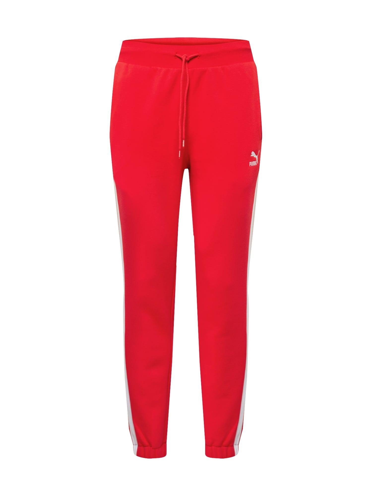 PUMA Kalhoty  červená