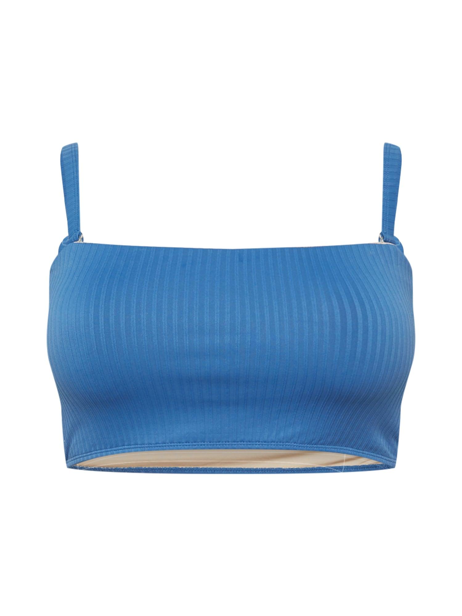 Cotton On Curve Bikinio viršutinė dalis mėlyna