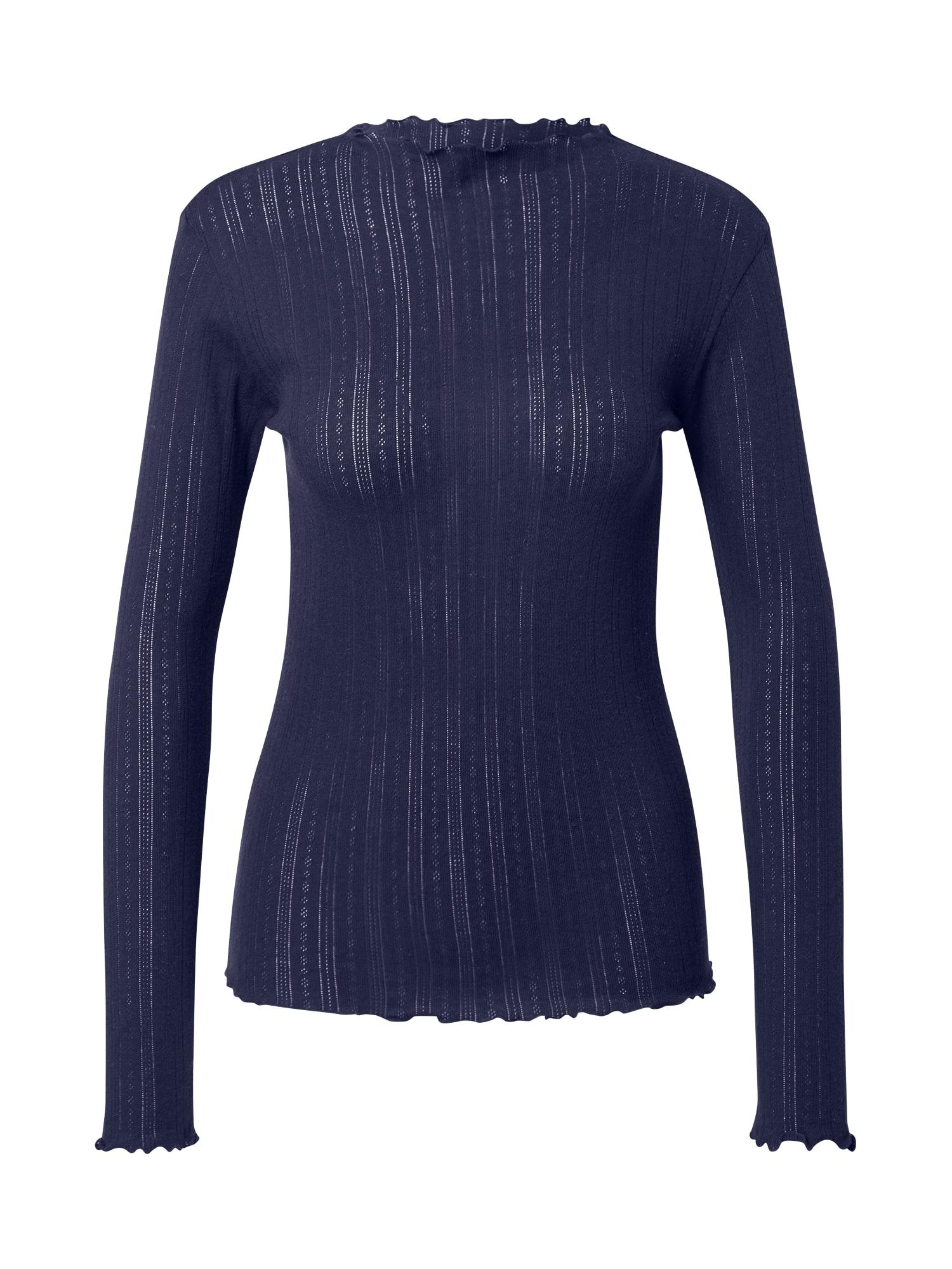 MADS NORGAARD COPENHAGEN Marškinėliai tamsiai mėlyna