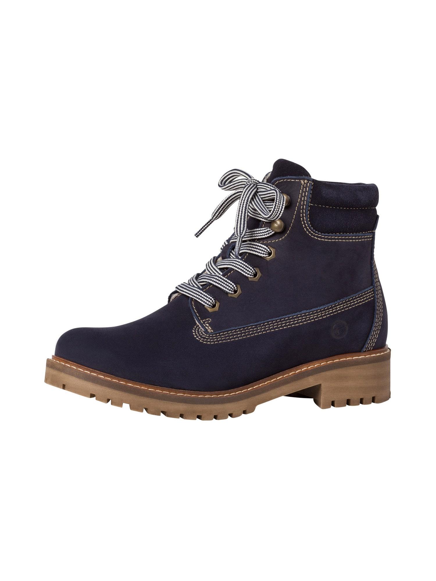 TAMARIS Auliniai batai tamsiai mėlyna
