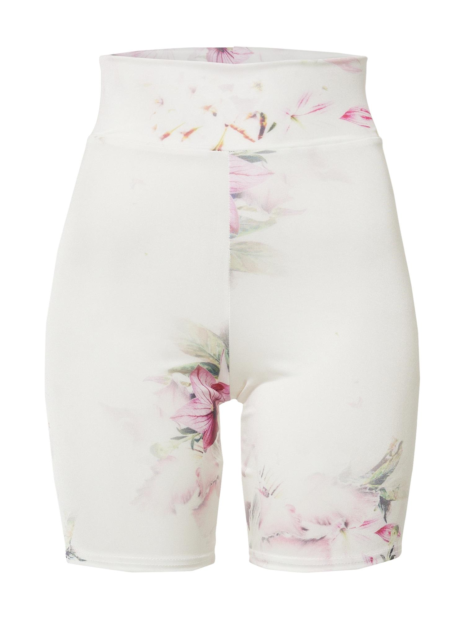 Miss Selfridge Legíny  bílá / růže / zelená