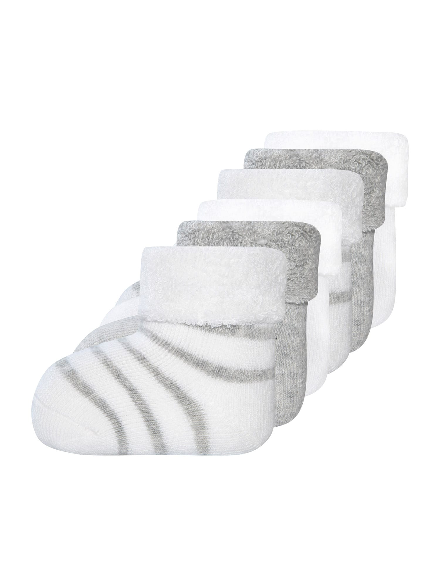 EWERS Kojinės balta / margai pilka