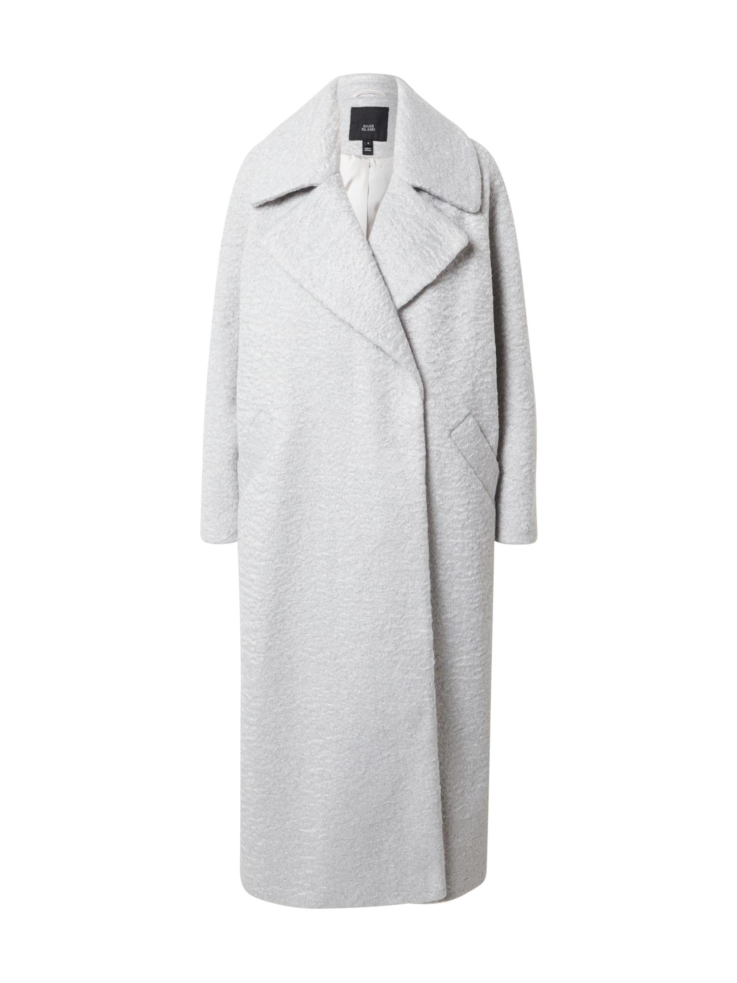 River Island Demisezoninis paltas šviesiai pilka