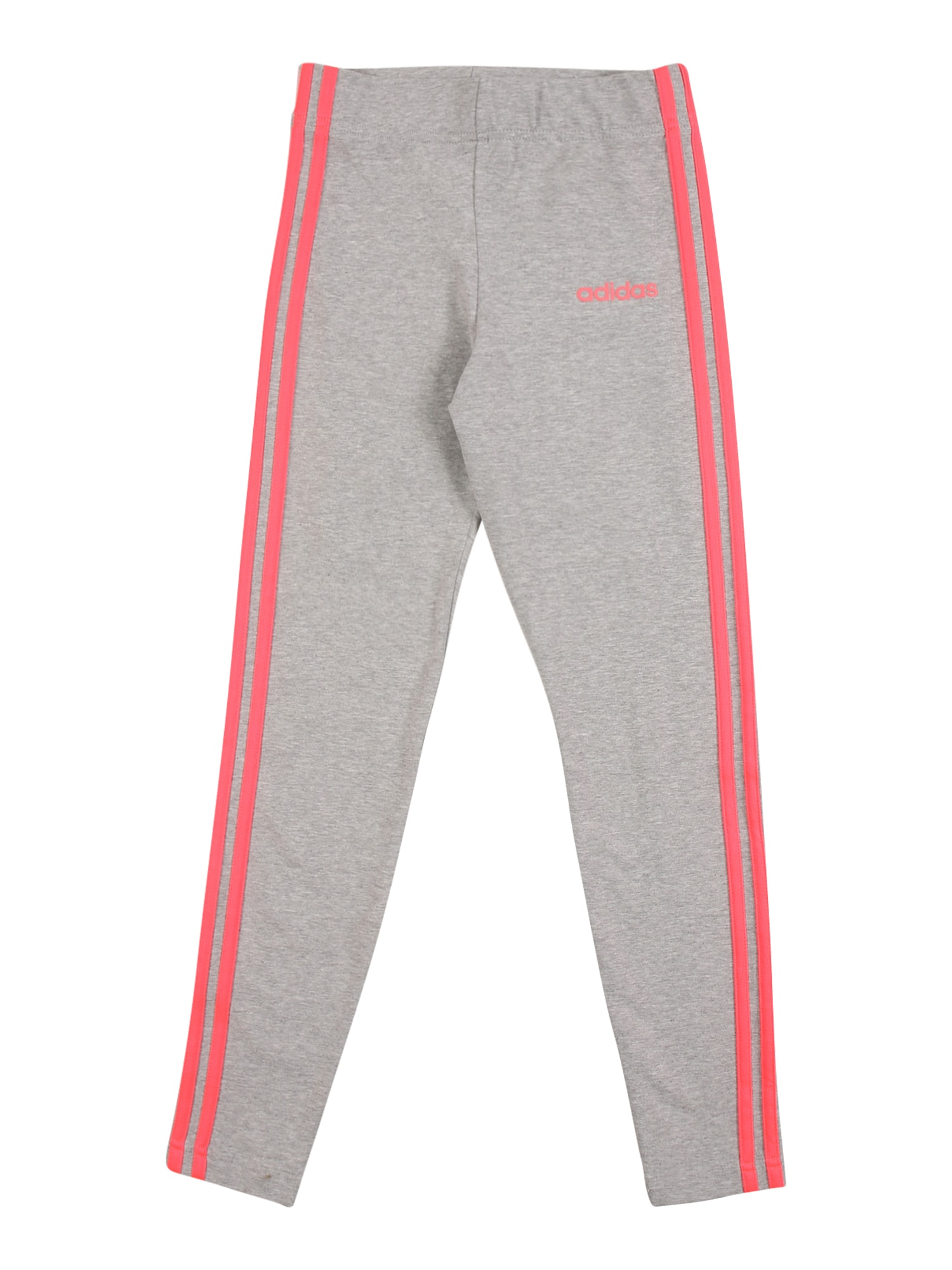 ADIDAS PERFORMANCE Sportinės kelnės lašišų spalva / pilka