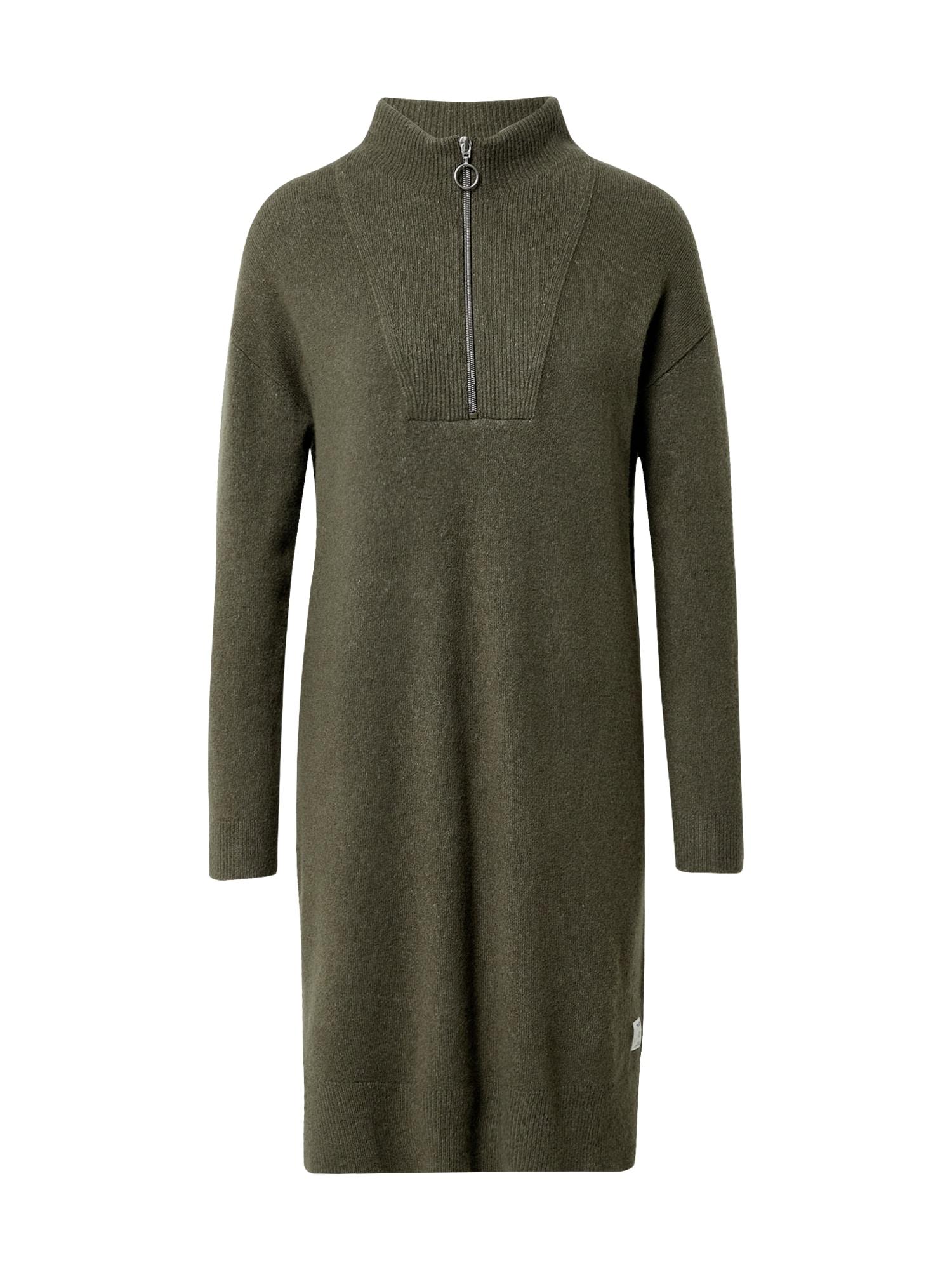 Marc O'Polo DENIM Úpletové šaty  zelená