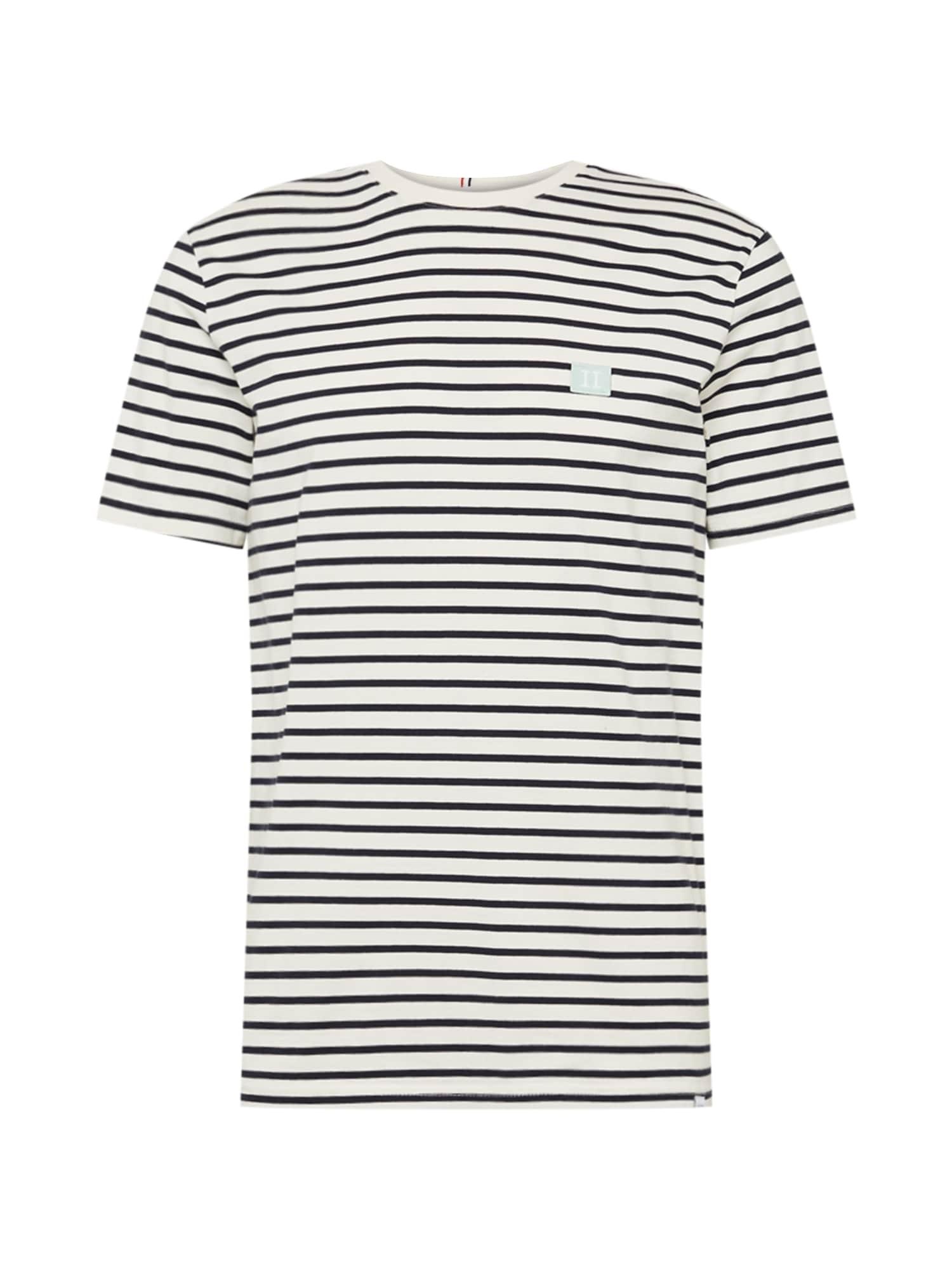 Les Deux Marškinėliai balta / tamsiai mėlyna