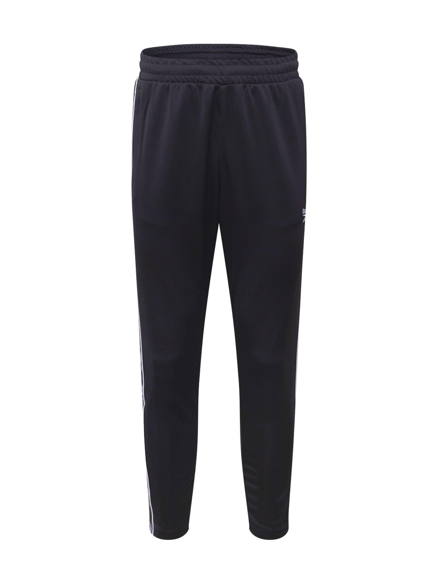 Reebok Classic Kalhoty 'Vector'  bílá / černá