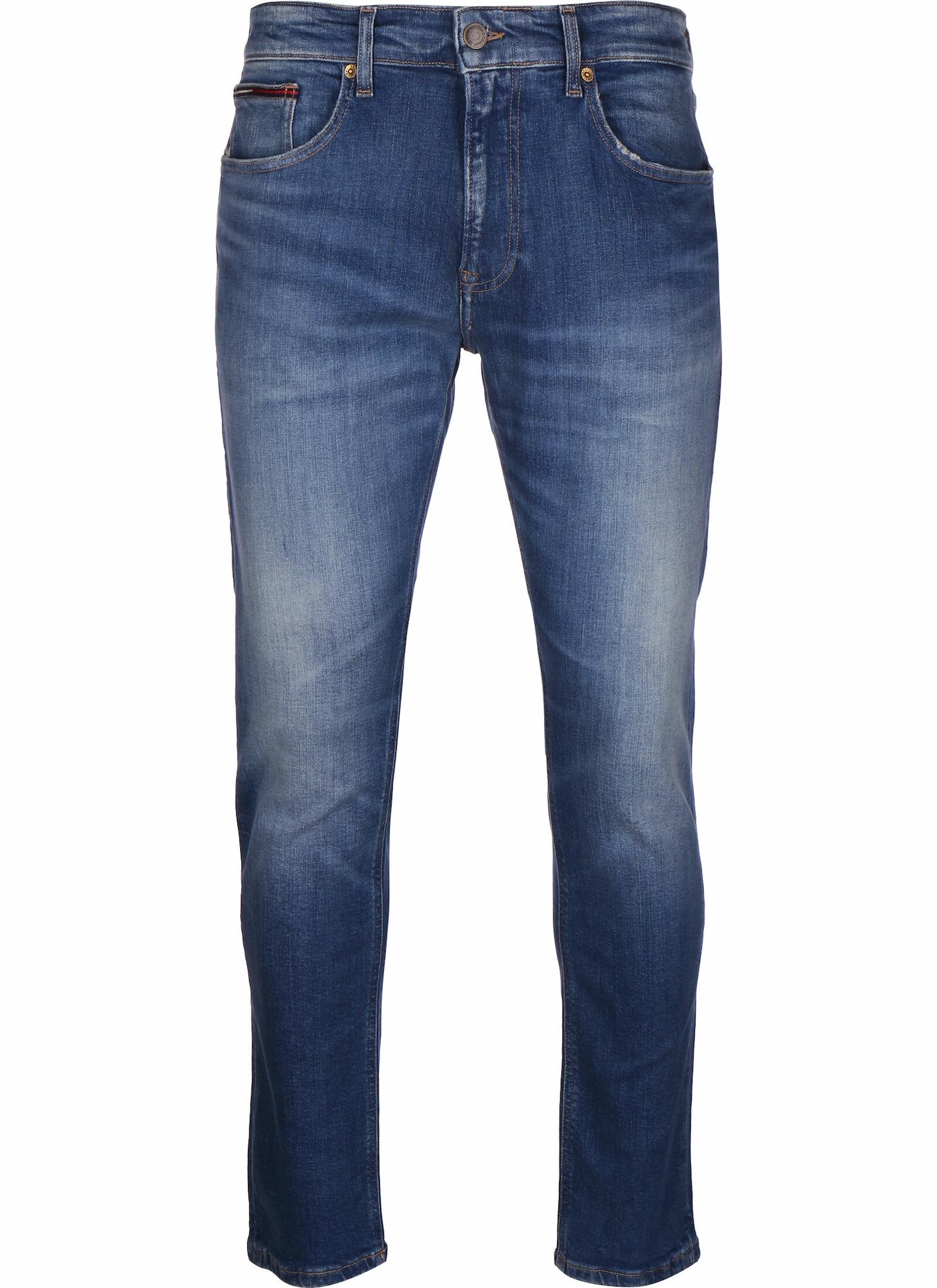 Tommy Jeans Džinsai 'AUSTIN' tamsiai (džinso) mėlyna