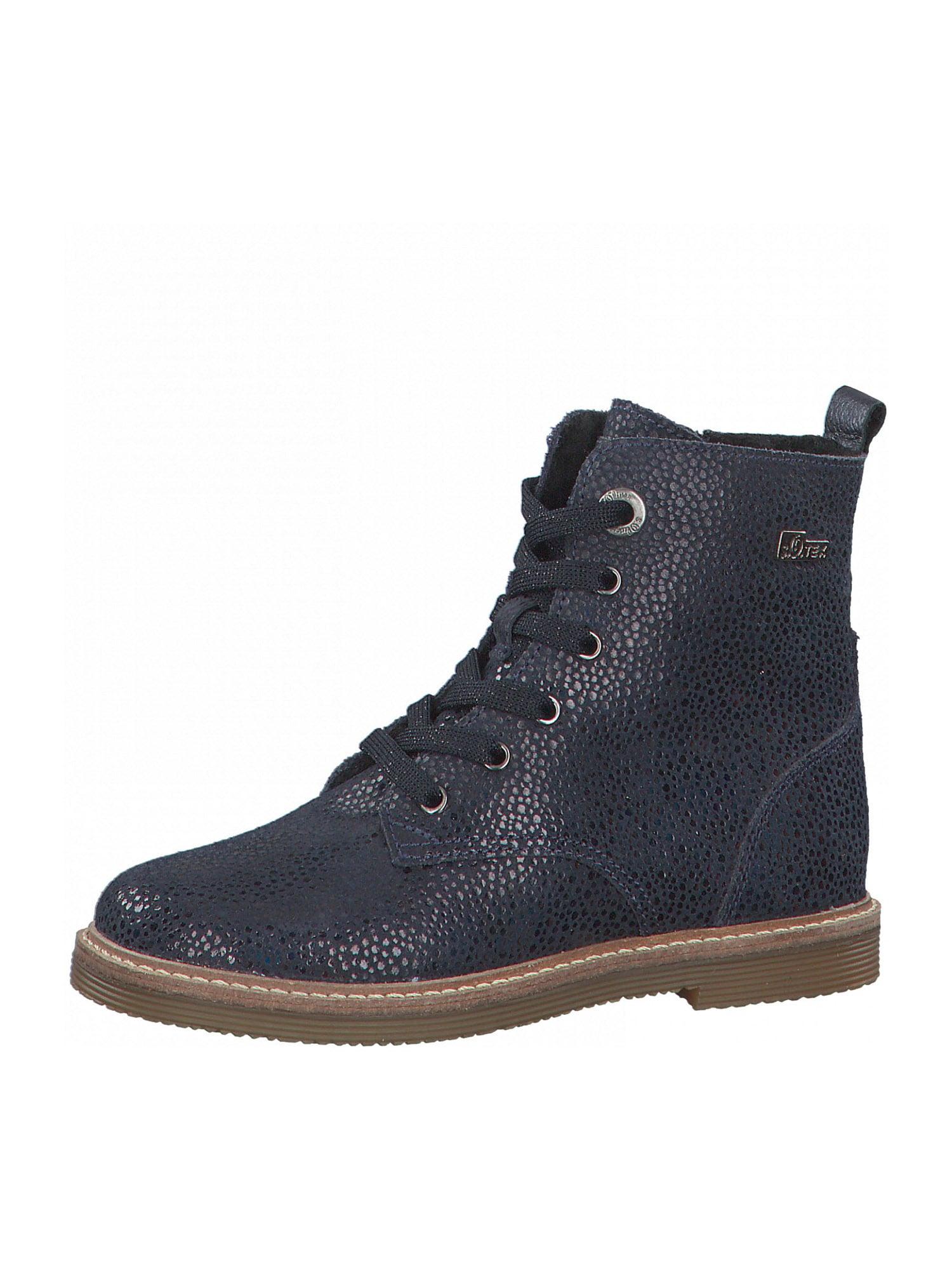 s.Oliver Junior Auliniai batai su kulniuku tamsiai mėlyna