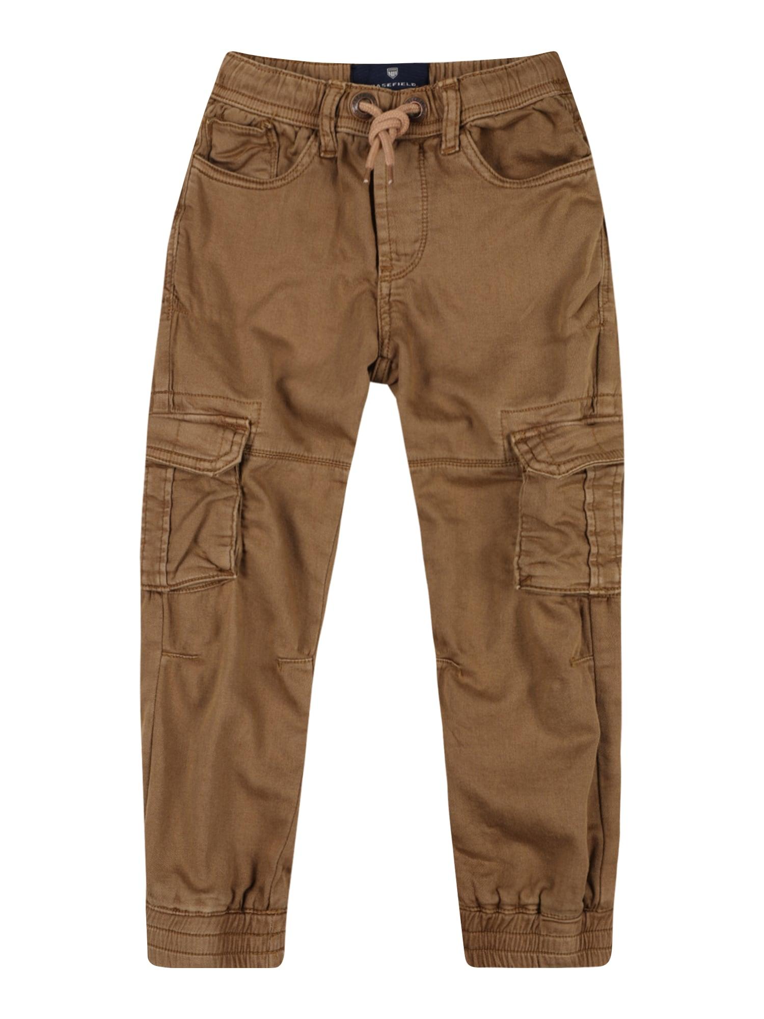 BASEFIELD Kelnės ruda