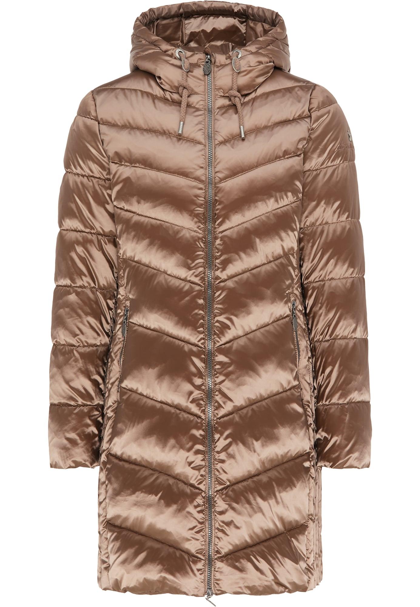 DreiMaster Klassik Žieminis paltas bronzinė