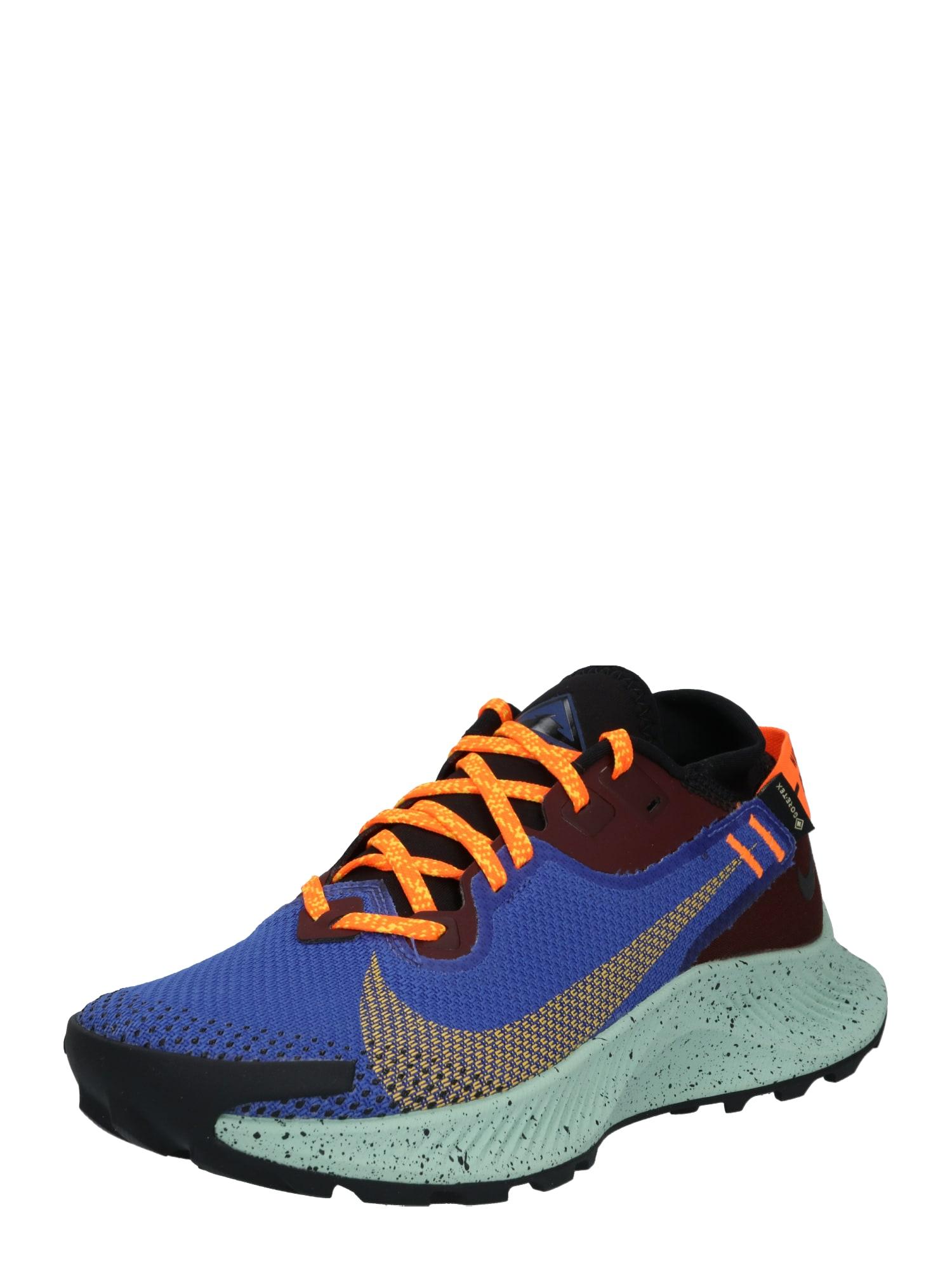 NIKE Sportovní boty 'Pegasus Trail 2'  oranžová / modrá / hnědá