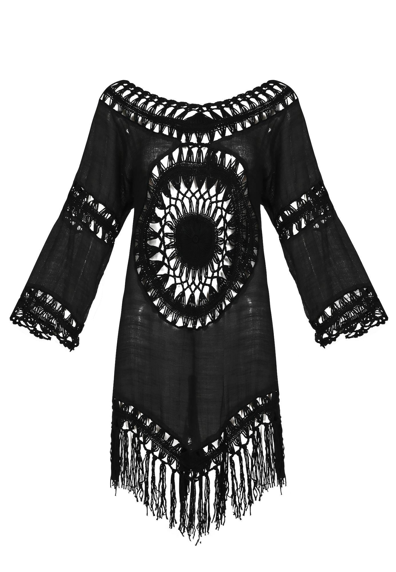 IZIA Paplūdimio suknelė juoda