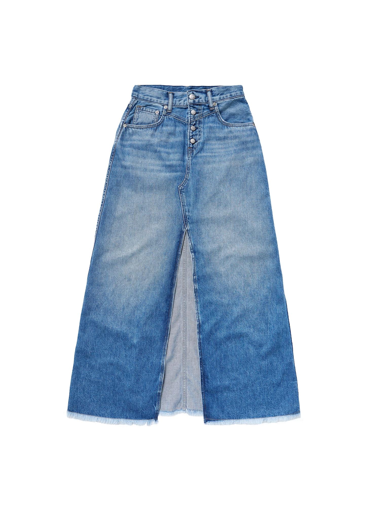 Pepe Jeans Sukně  modrá džínovina
